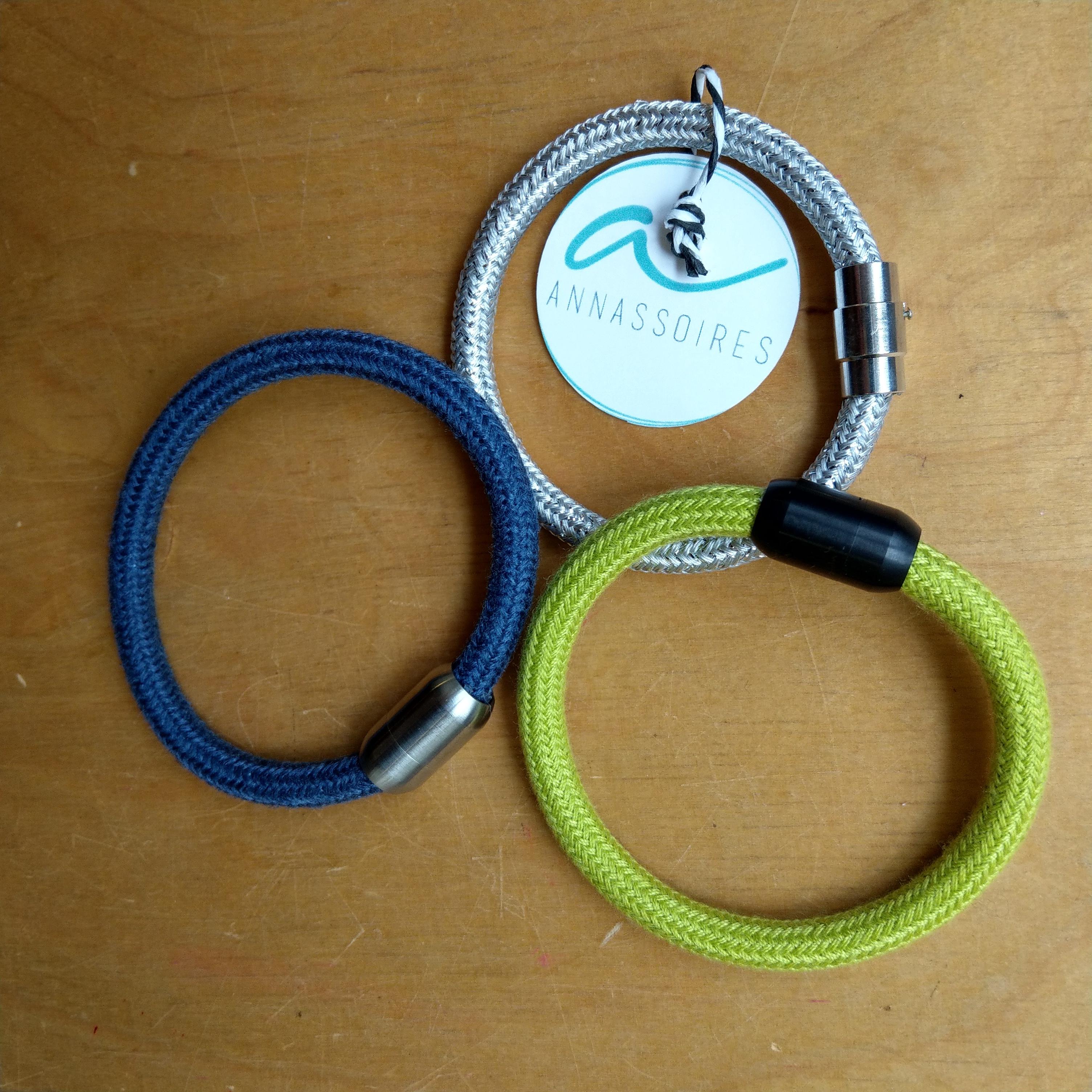 Textilkabel-Armband von Annassoires