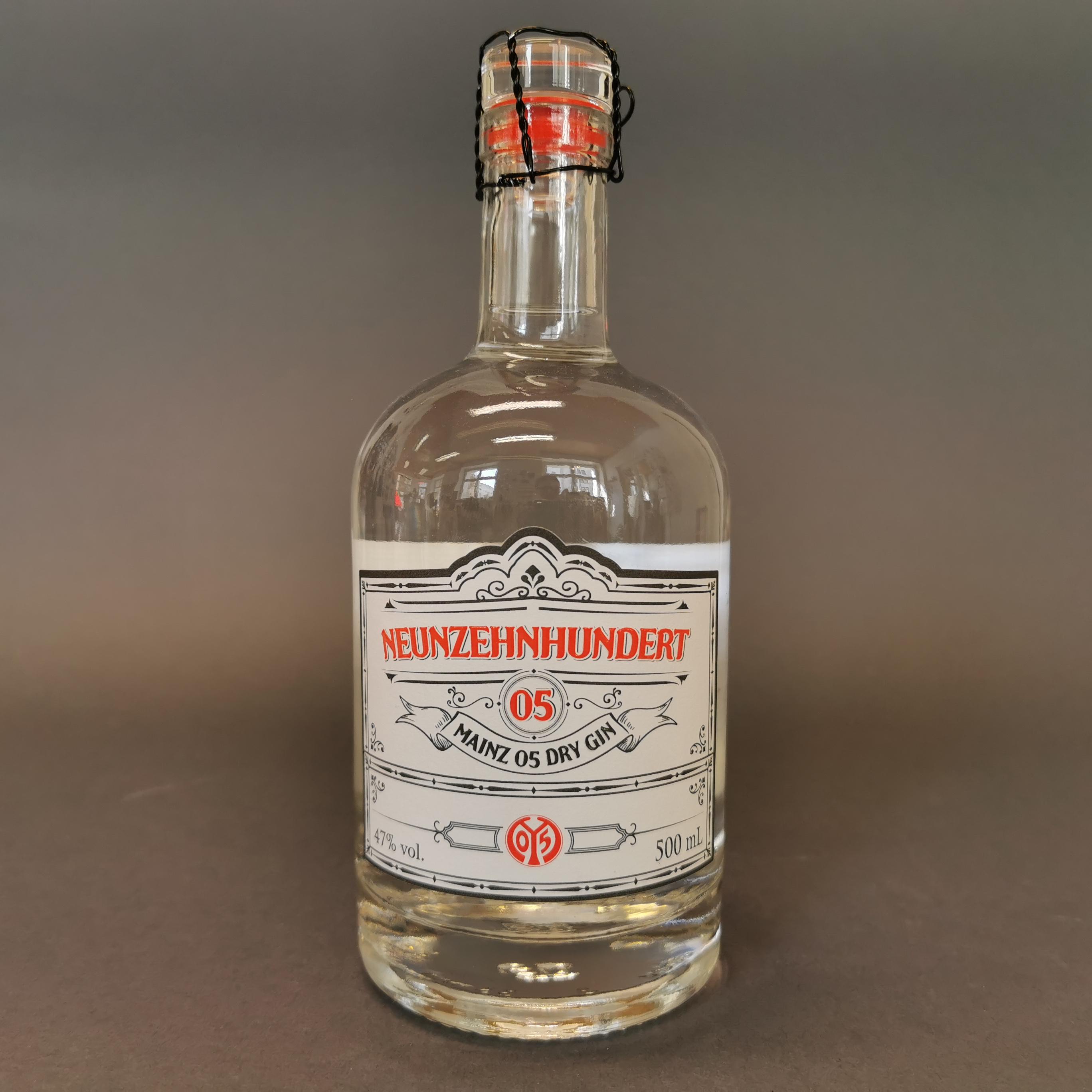 Neunzehnhundert 05 Dry Gin von Mainz 05