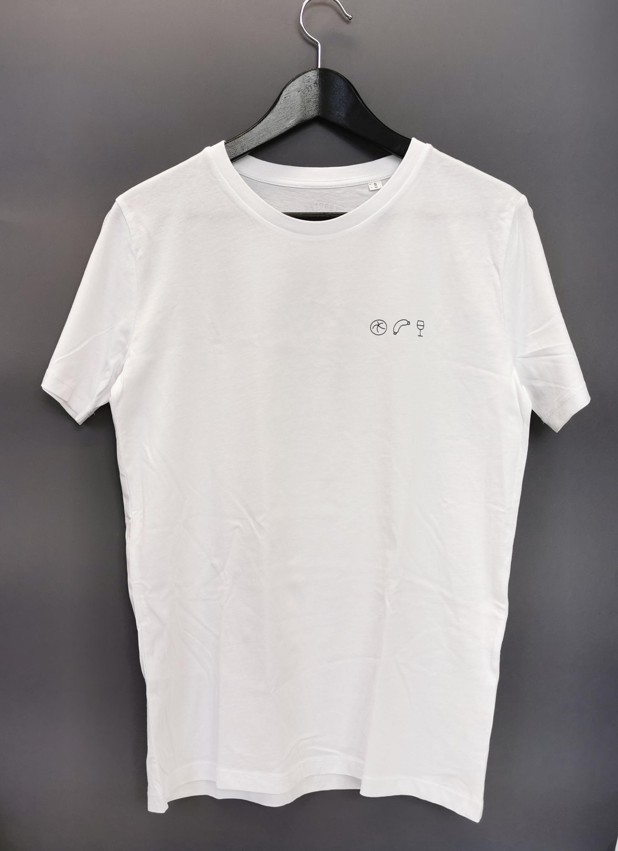 Weck Worscht Woi Shirt von Charles