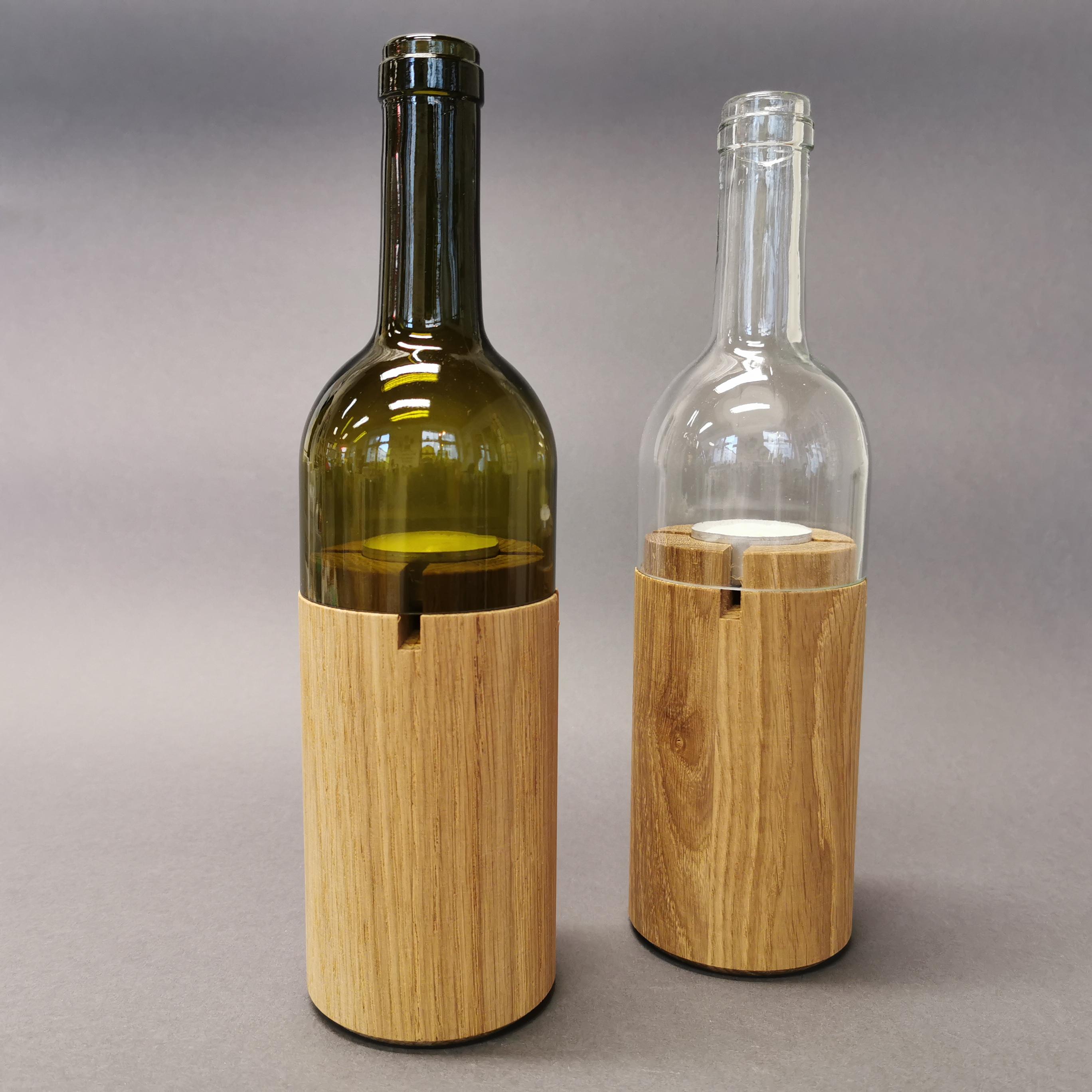 Weinlicht von Side by Side Socialdesign