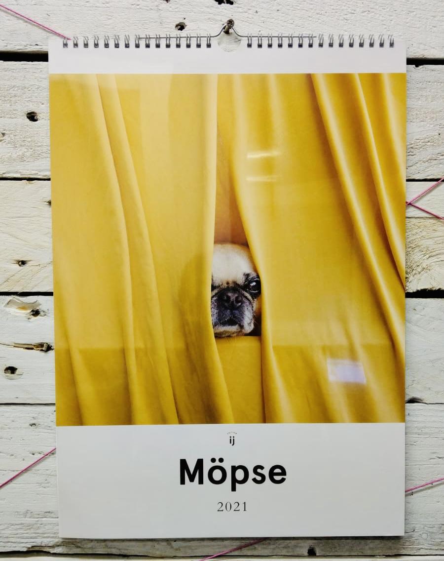 Möpse-Kalender von edition ij