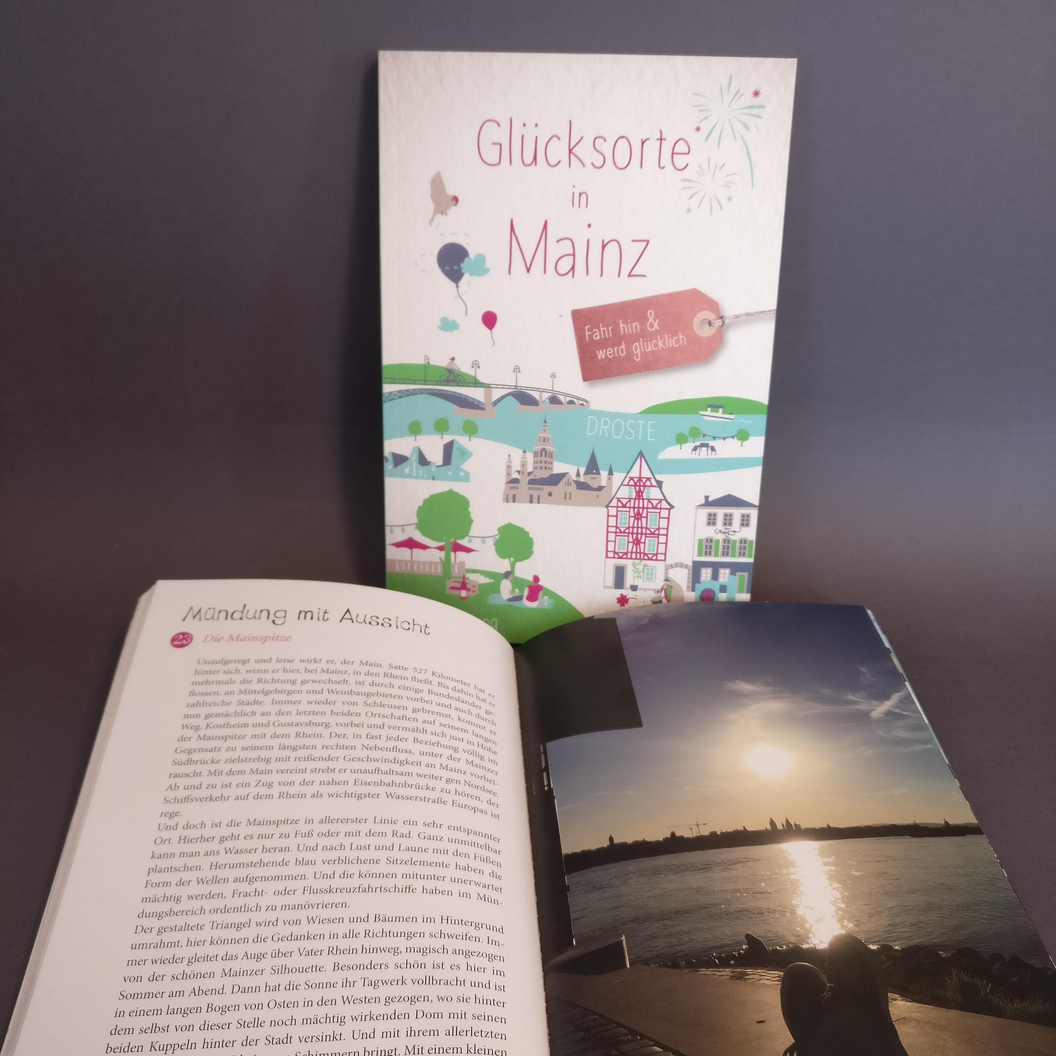 """Buch """"Glücksorte in Mainz"""" von Stefanie Jung"""