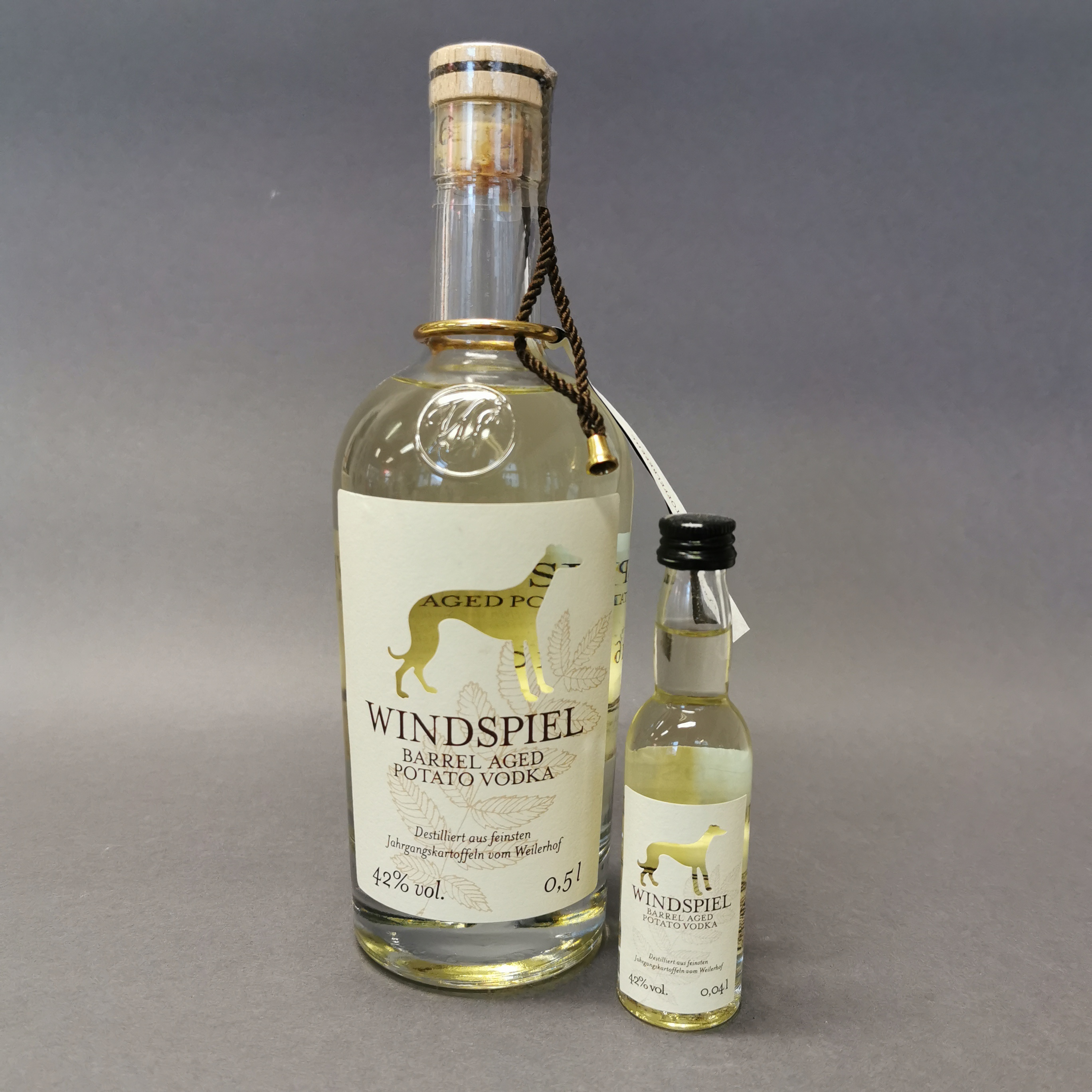 Windspiel Barrel Aged Potato Vodka