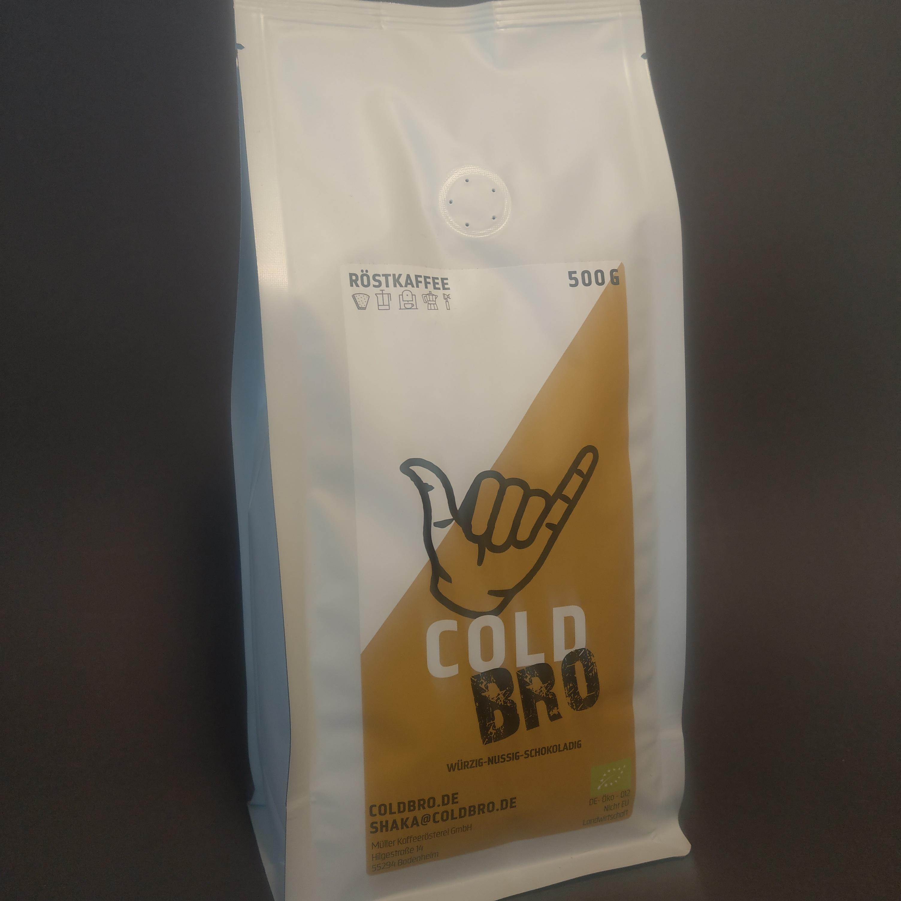 Cold Bro Röstkaffee 500g von Müller Kaffee