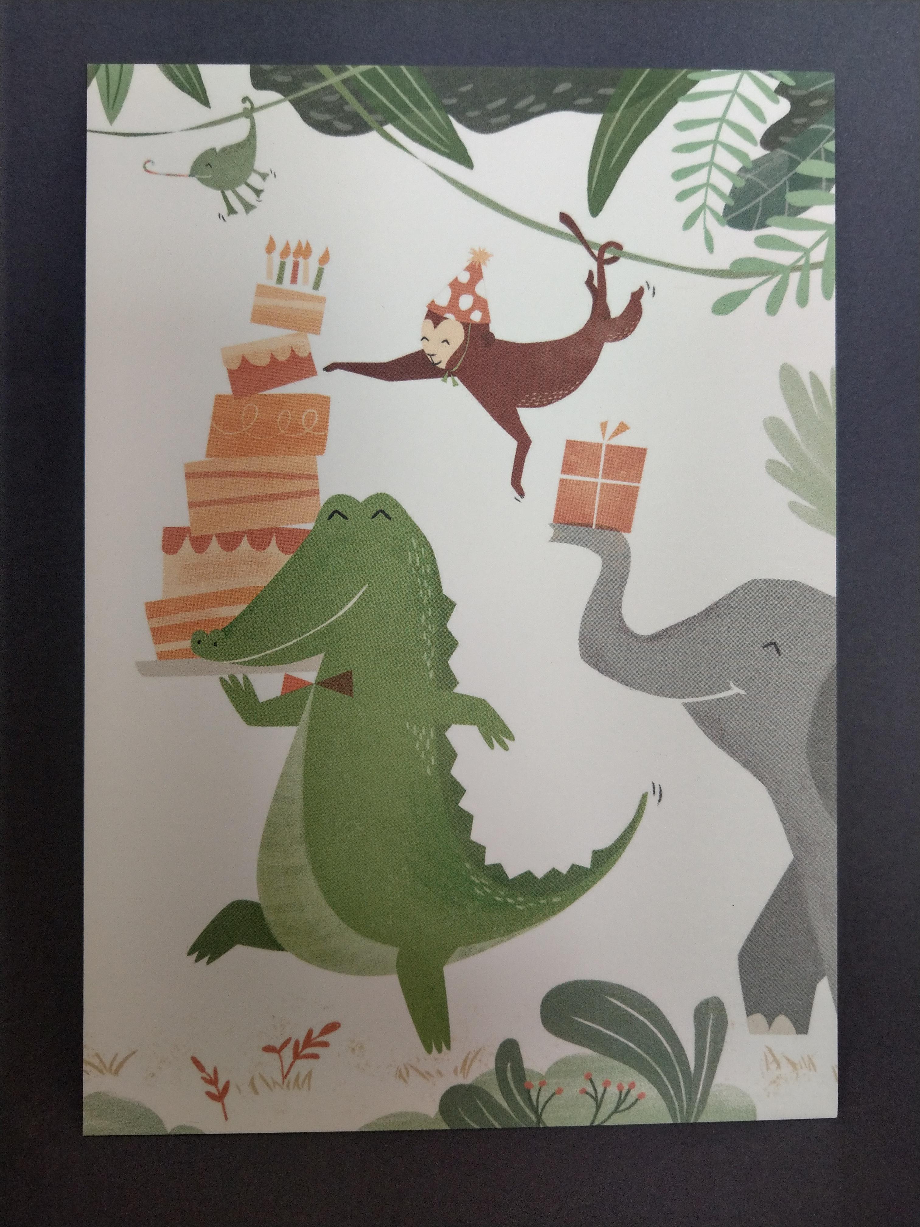 Postkarten von 54 illustration