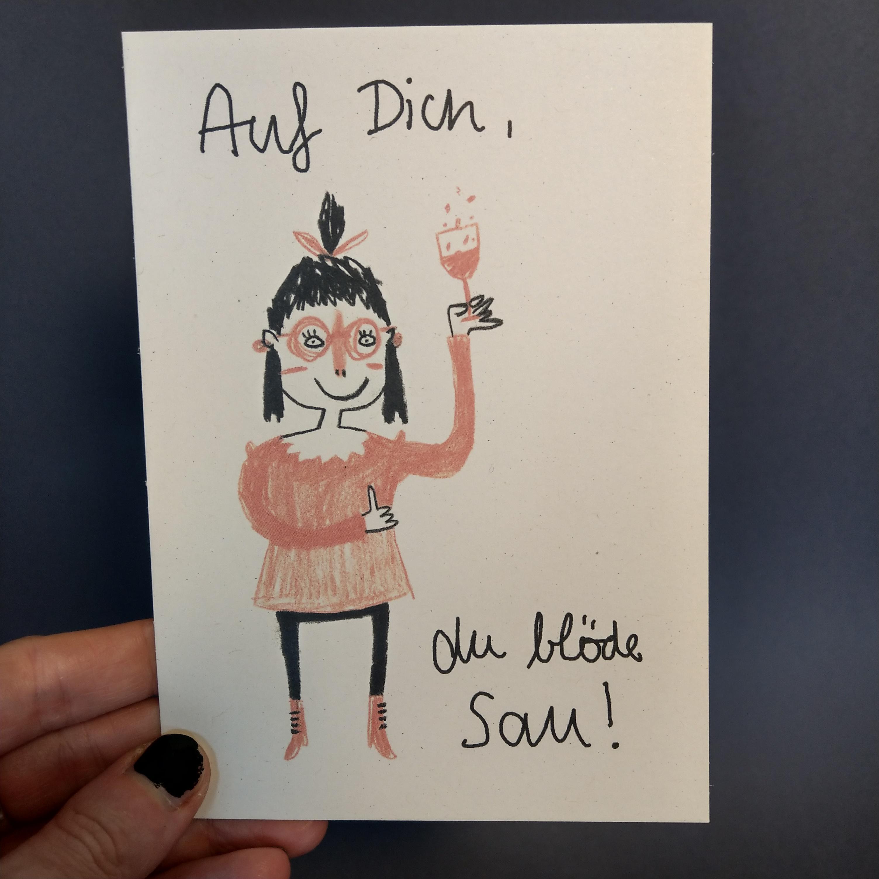 Postkarte von Slinga