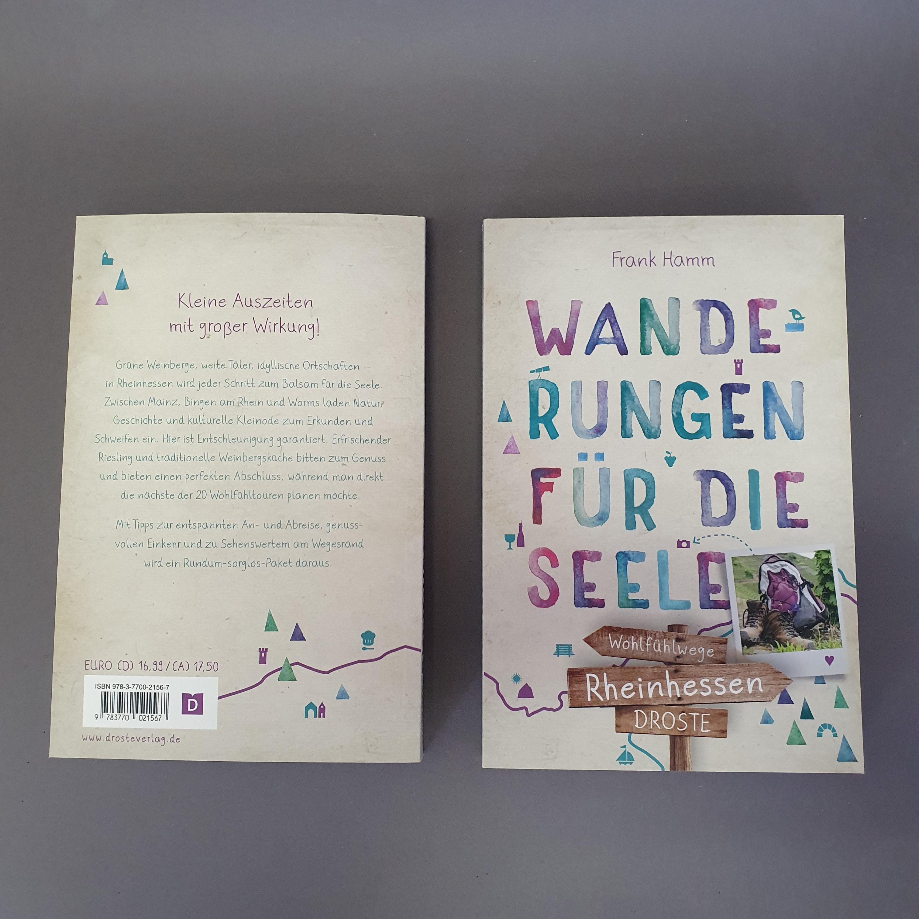 """Buch """"Wanderungen für die Seele. Rheinhessen"""" von Frank Hamm"""