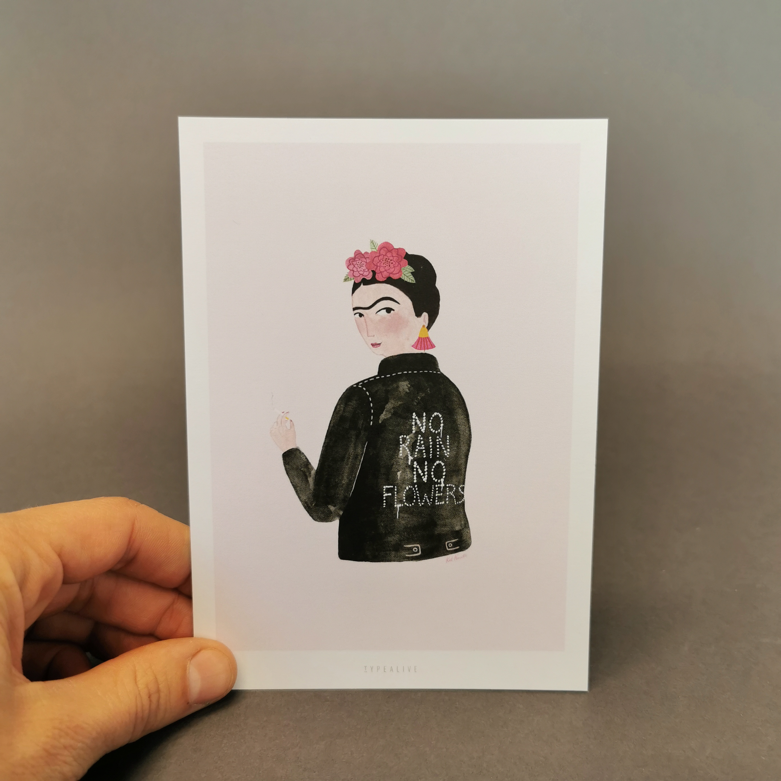 Postkarte von typealive