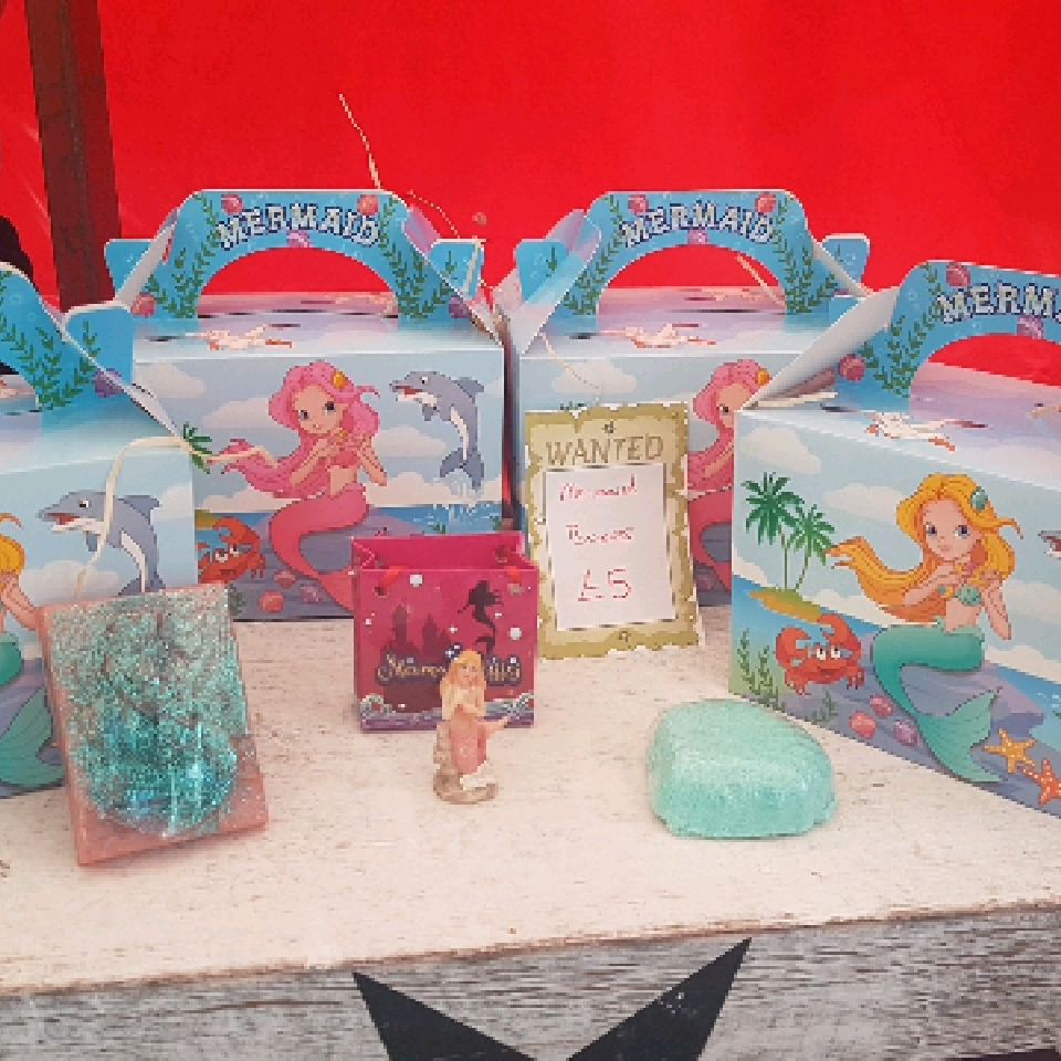 mermaid boxes