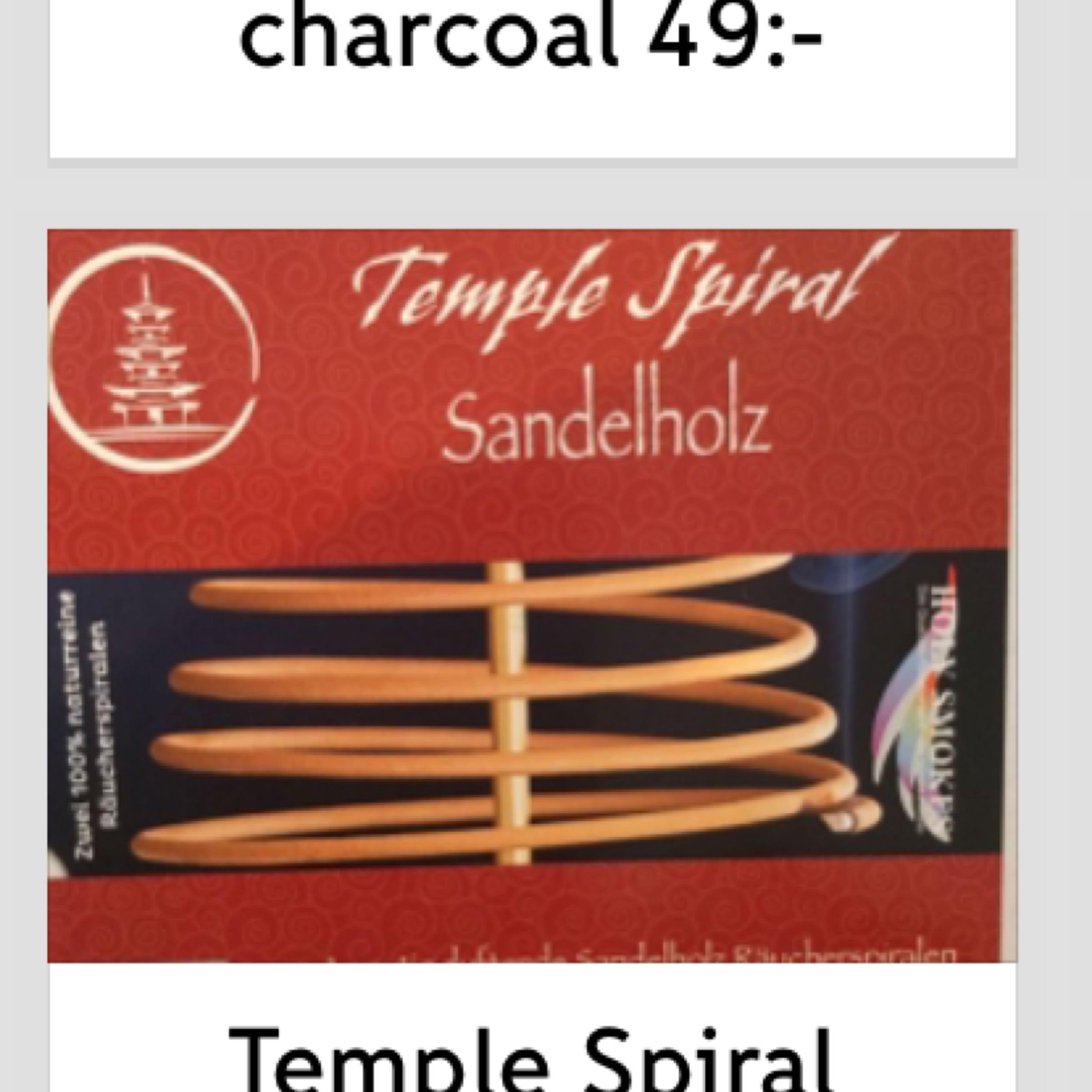 Rökelser Temple Spiral