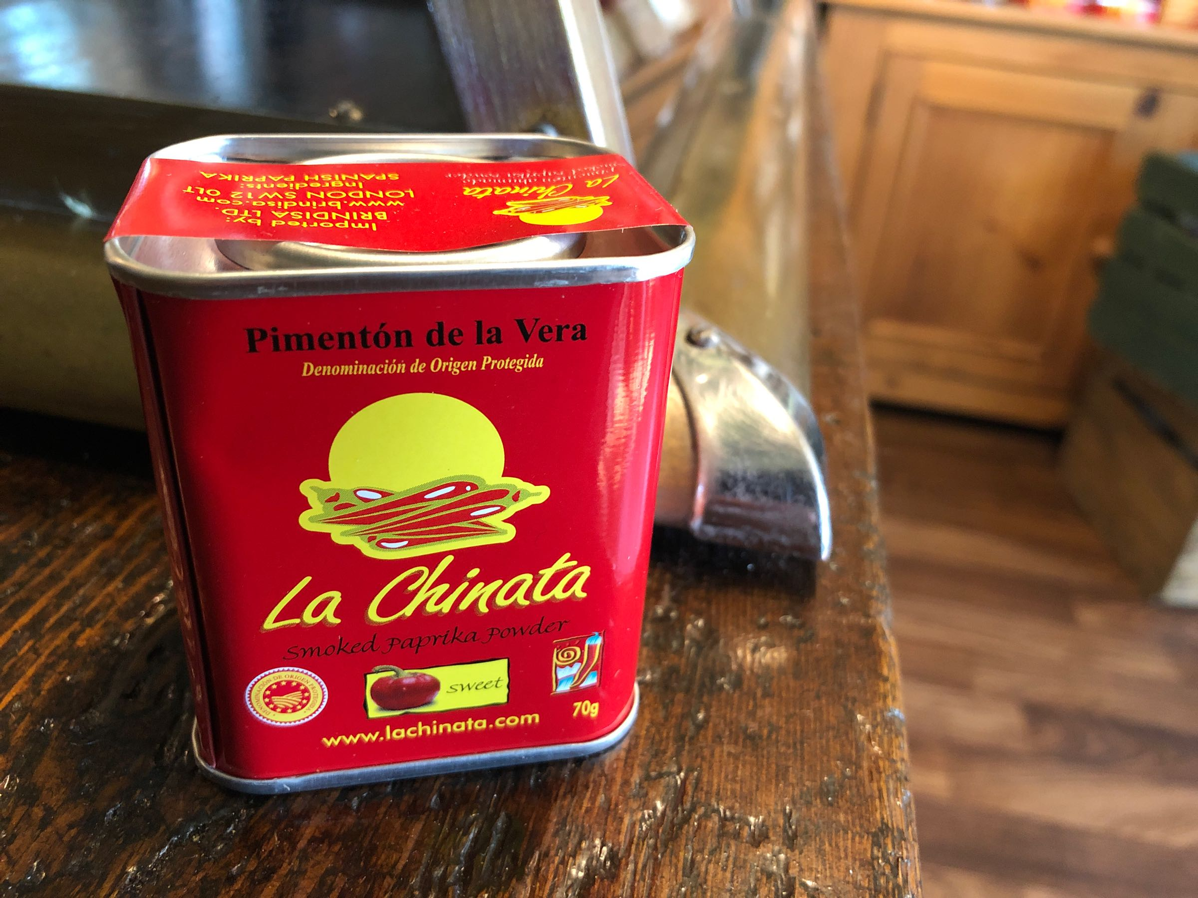 La Chinata sweet paprika, tin 70g