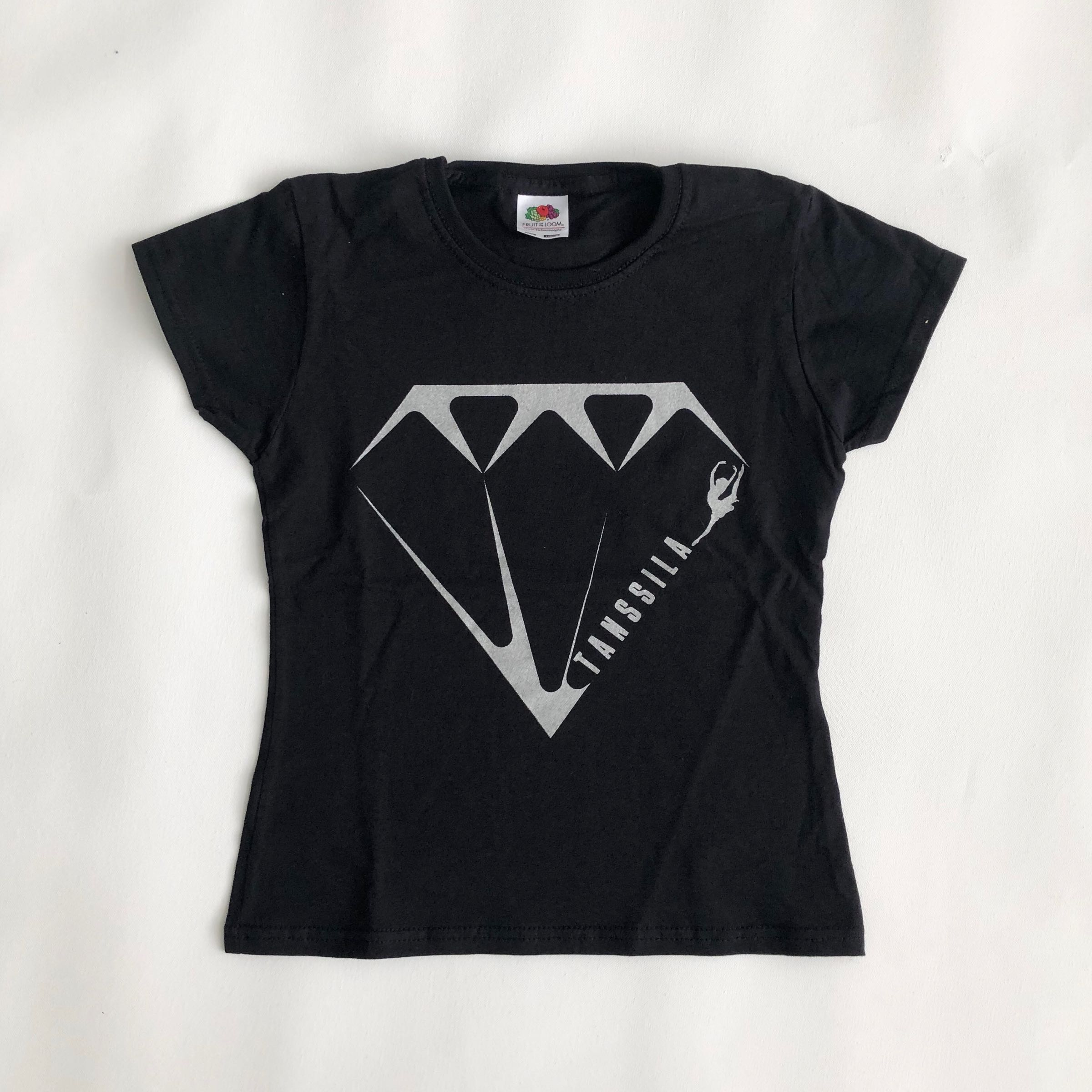 Tanssila, Diamond t-paita, musta