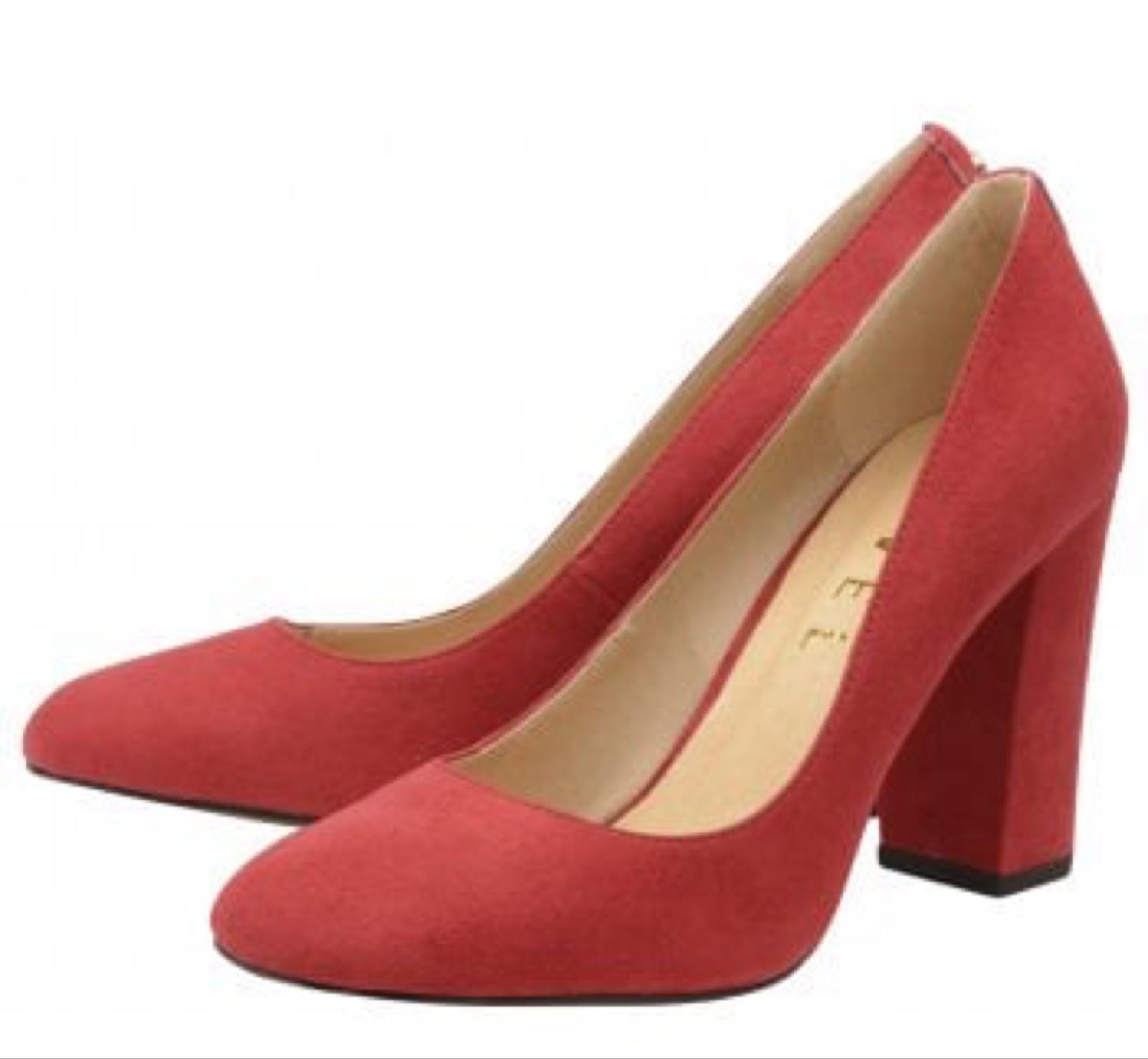 Ravel Baldwin Red Imi Suede
