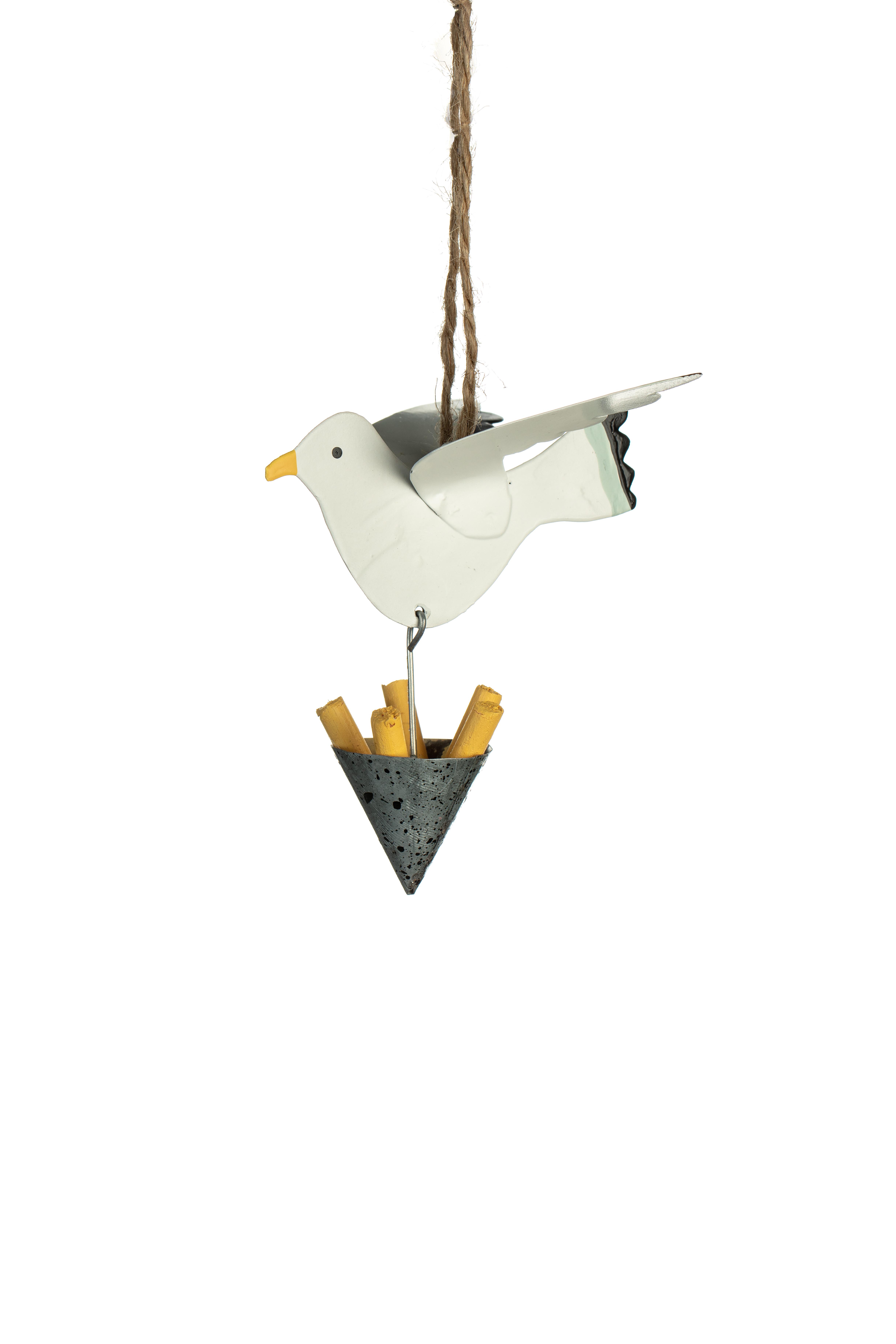 Seagull Stealing Chips Hanger