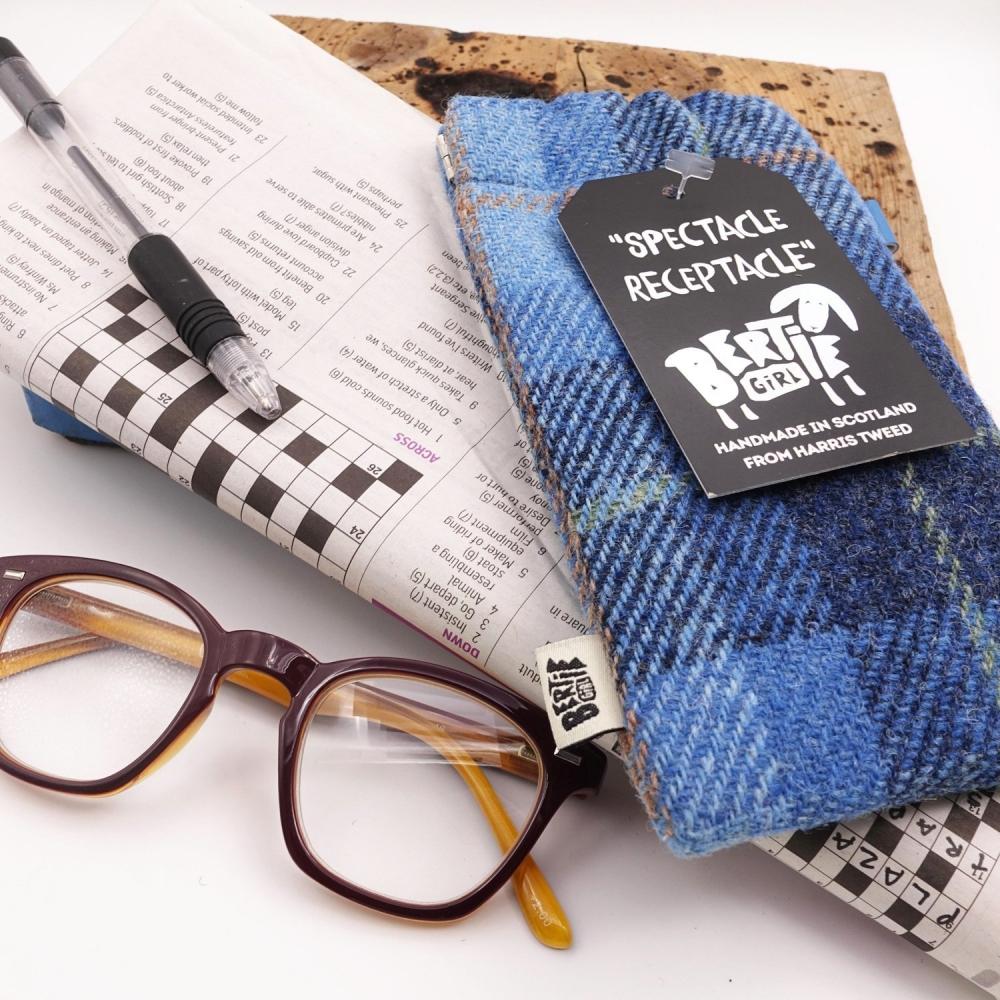 Harris Tweed Glasses Case SALE (£18)