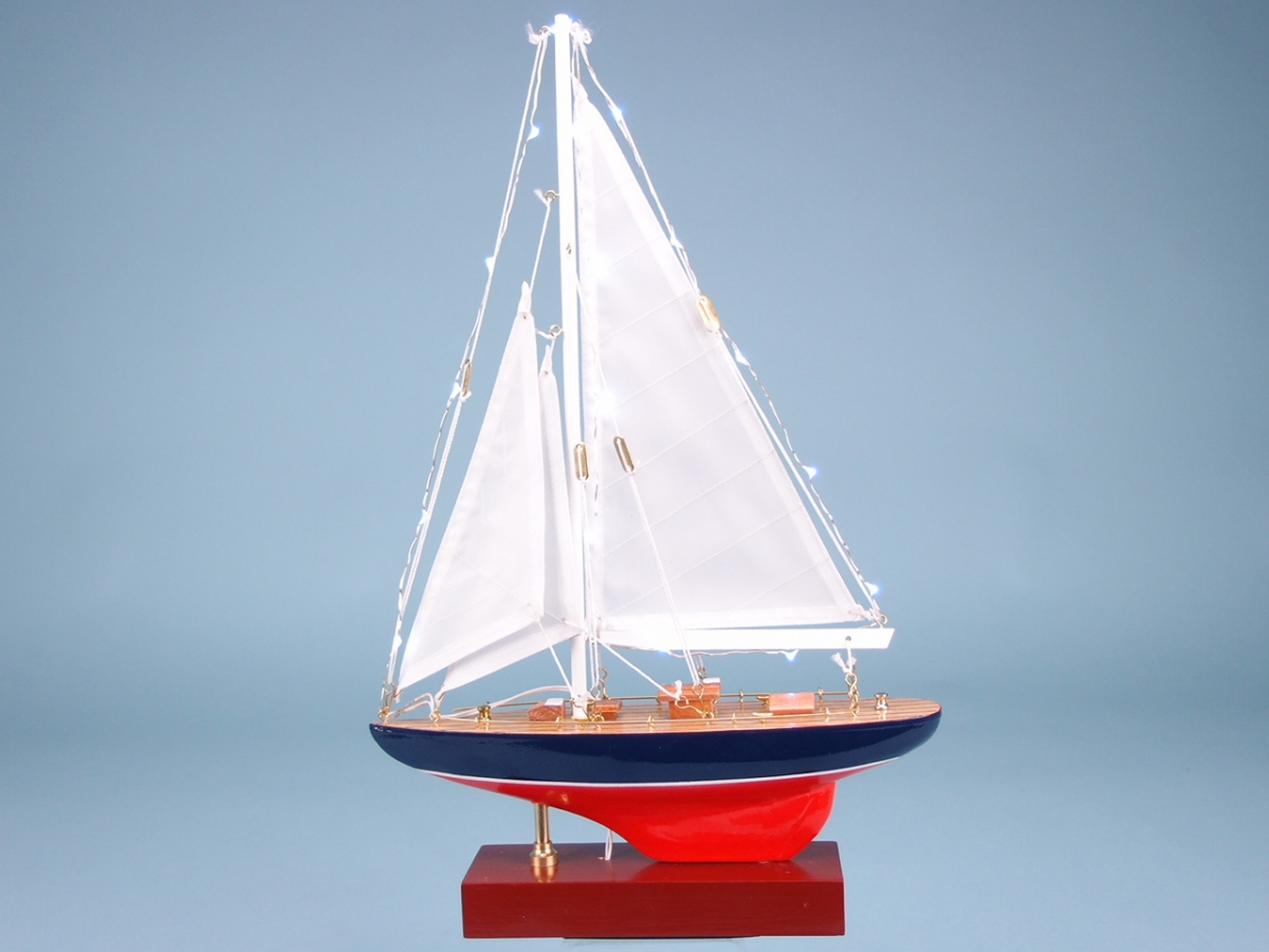 25cm LED Yacht