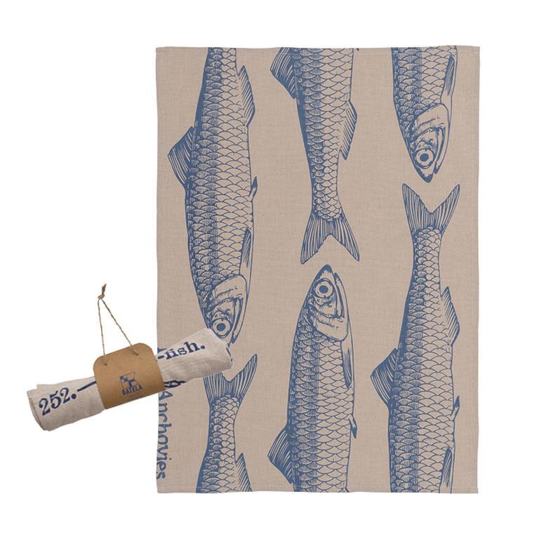Tea Towel: Fish