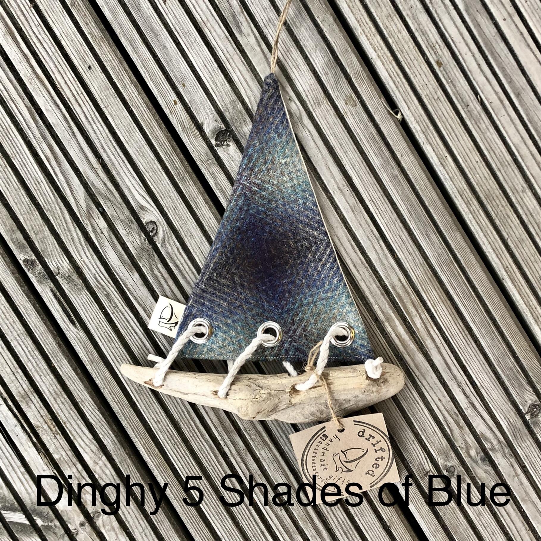 Handmade Driftwood Dinghy 5