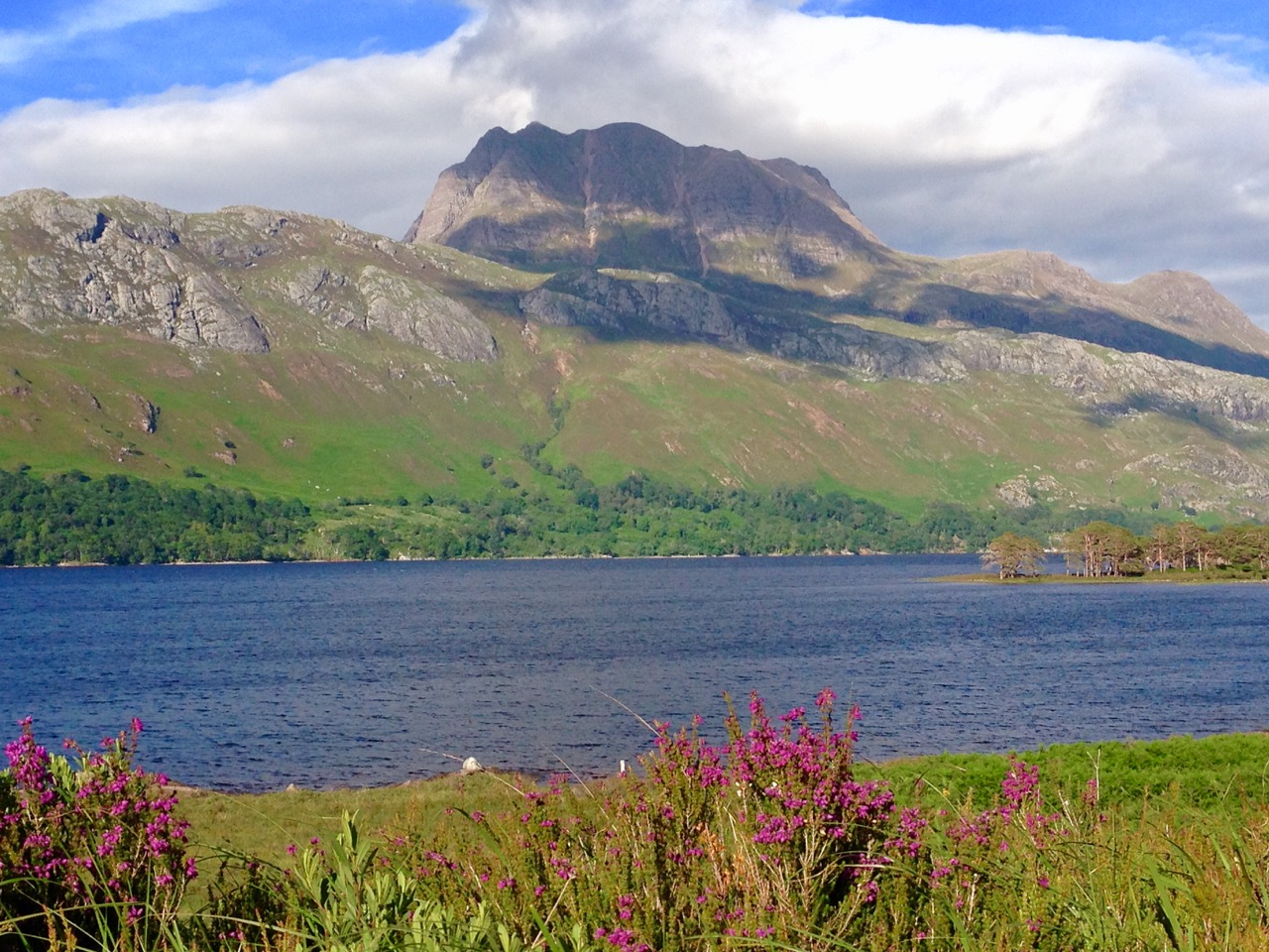 L57  Slioch in Summer