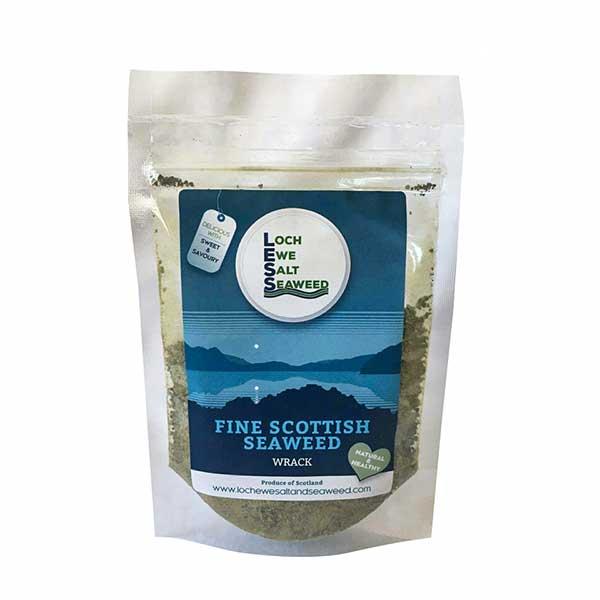 Loch Ewe Seaweed 60g: Ground Bladder Wrack