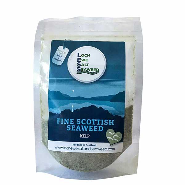 Loch Ewe Seaweed 60g: Ground Kelp