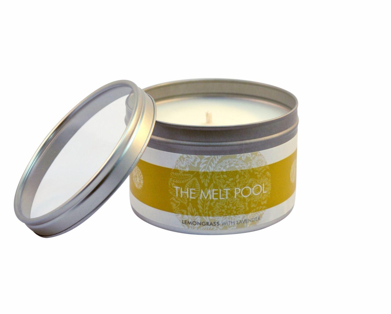 The Melt Pool Large Tin: Lemongrass with Lavender