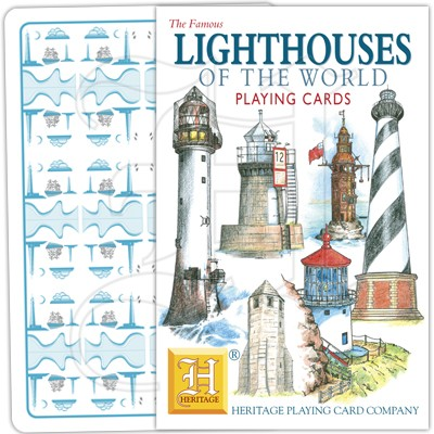 Playing Cards: Lighthouses