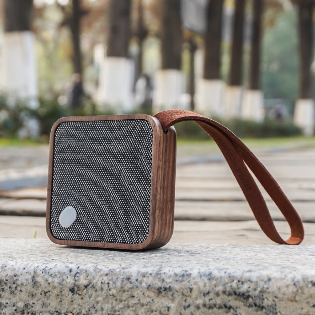 MI Square Bluetooth Speaker Walnut SALE 25% (£43.95)