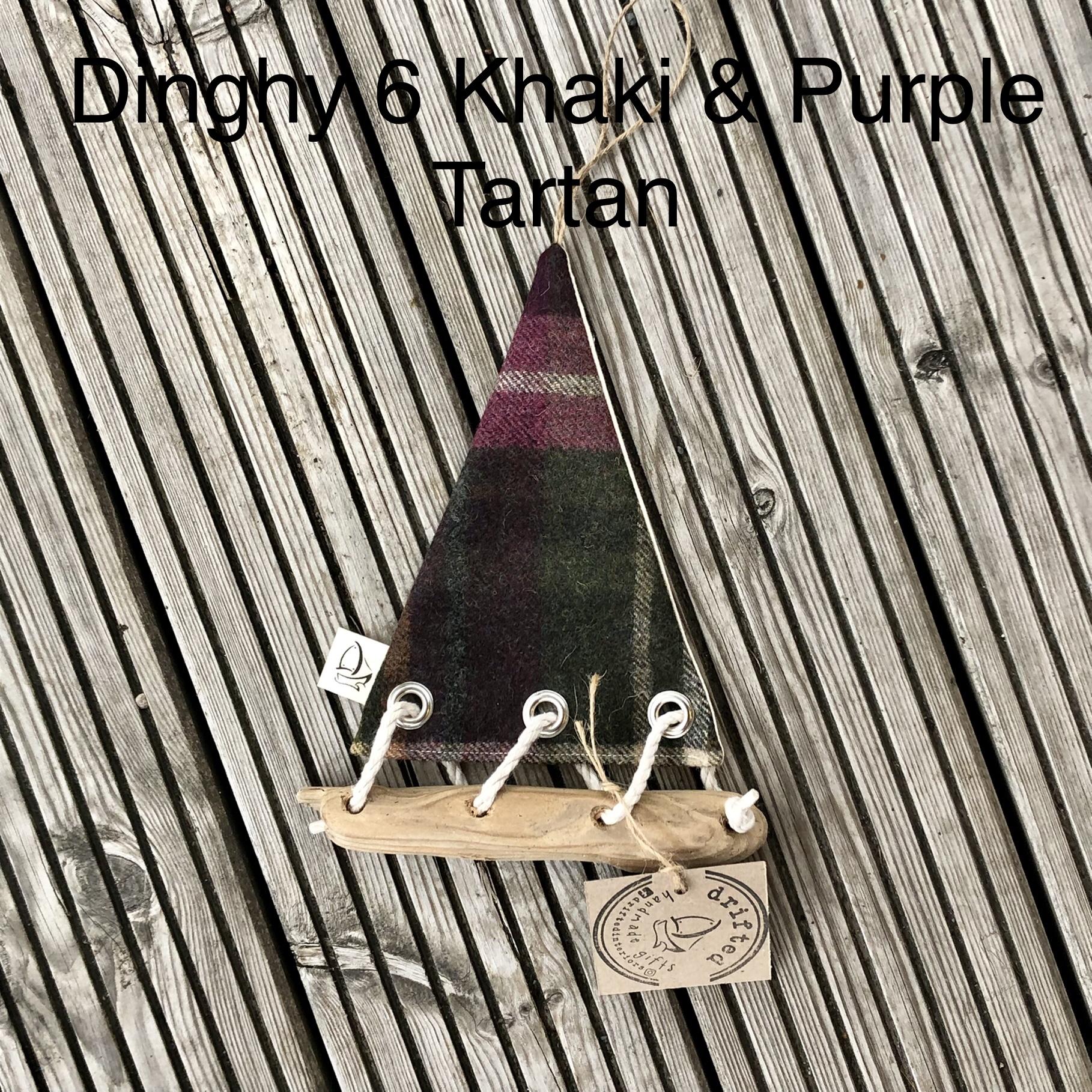 Handmade Driftwood Dinghy 6