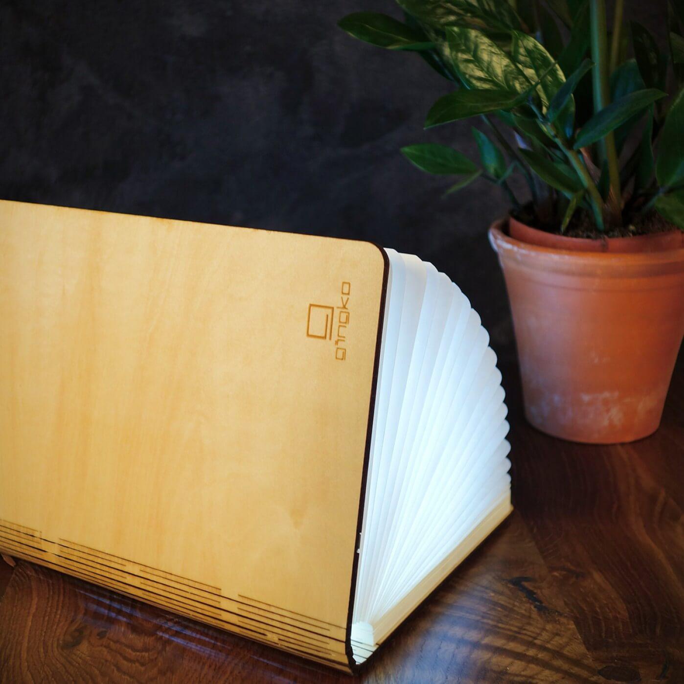 Large Smart Light Book Maple SALE 25% (£59.95)