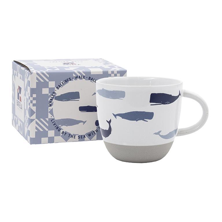 Mug: Whales (Blue)