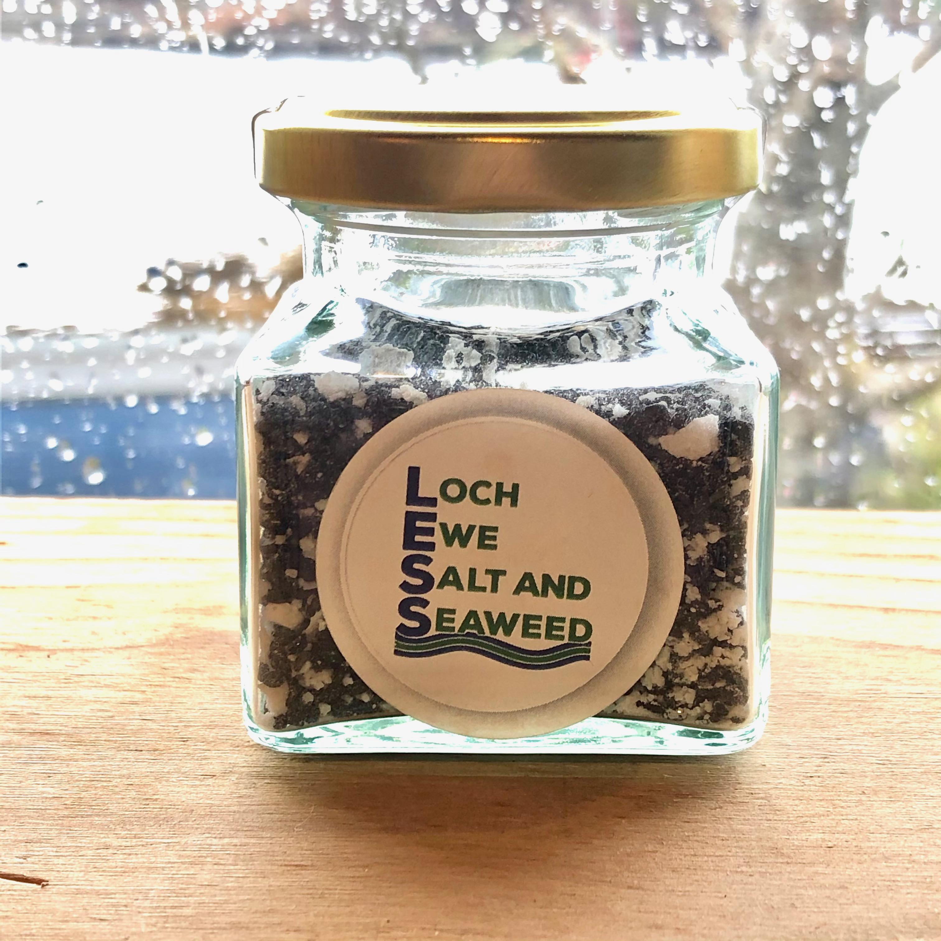 Loch Ewe Sea Salt Jar 75g: Onion Sea Salt