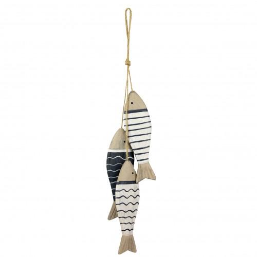 Hanging Wooden Fish 41cm