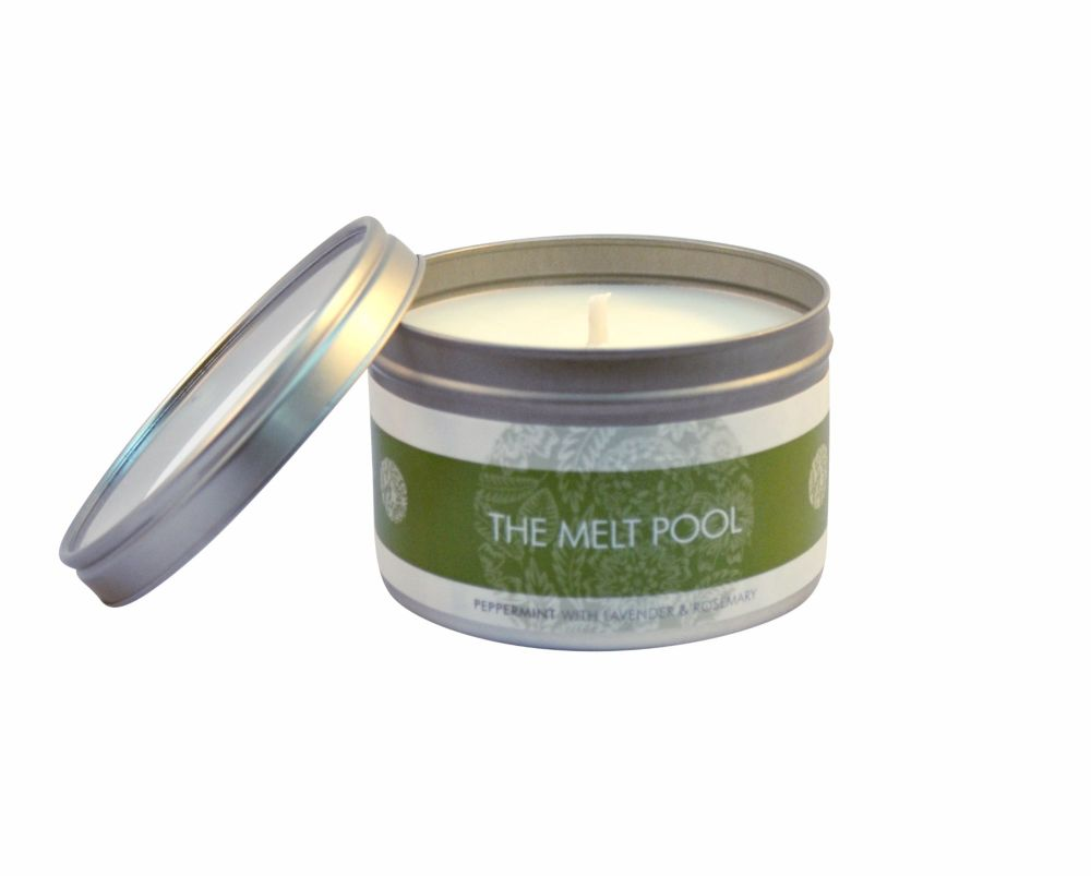 The Melt Pool Large Tin: Peppermint, Lavender & Rosemary