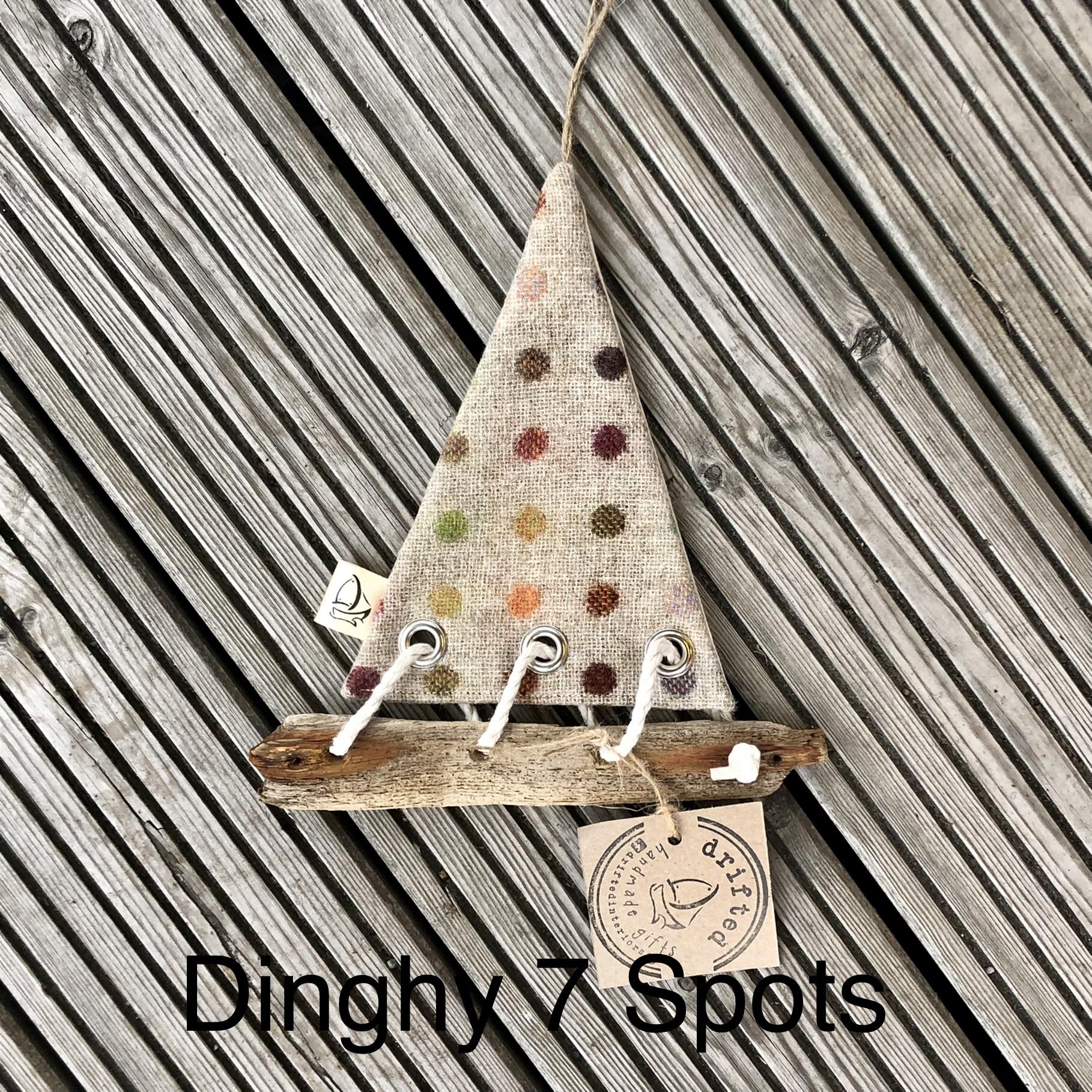 Handmade Driftwood Dinghy 7