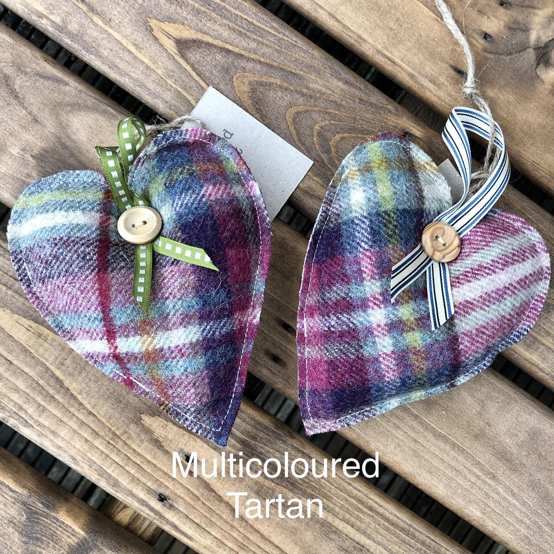 Handmade Woolly Hearts SALE (£8)