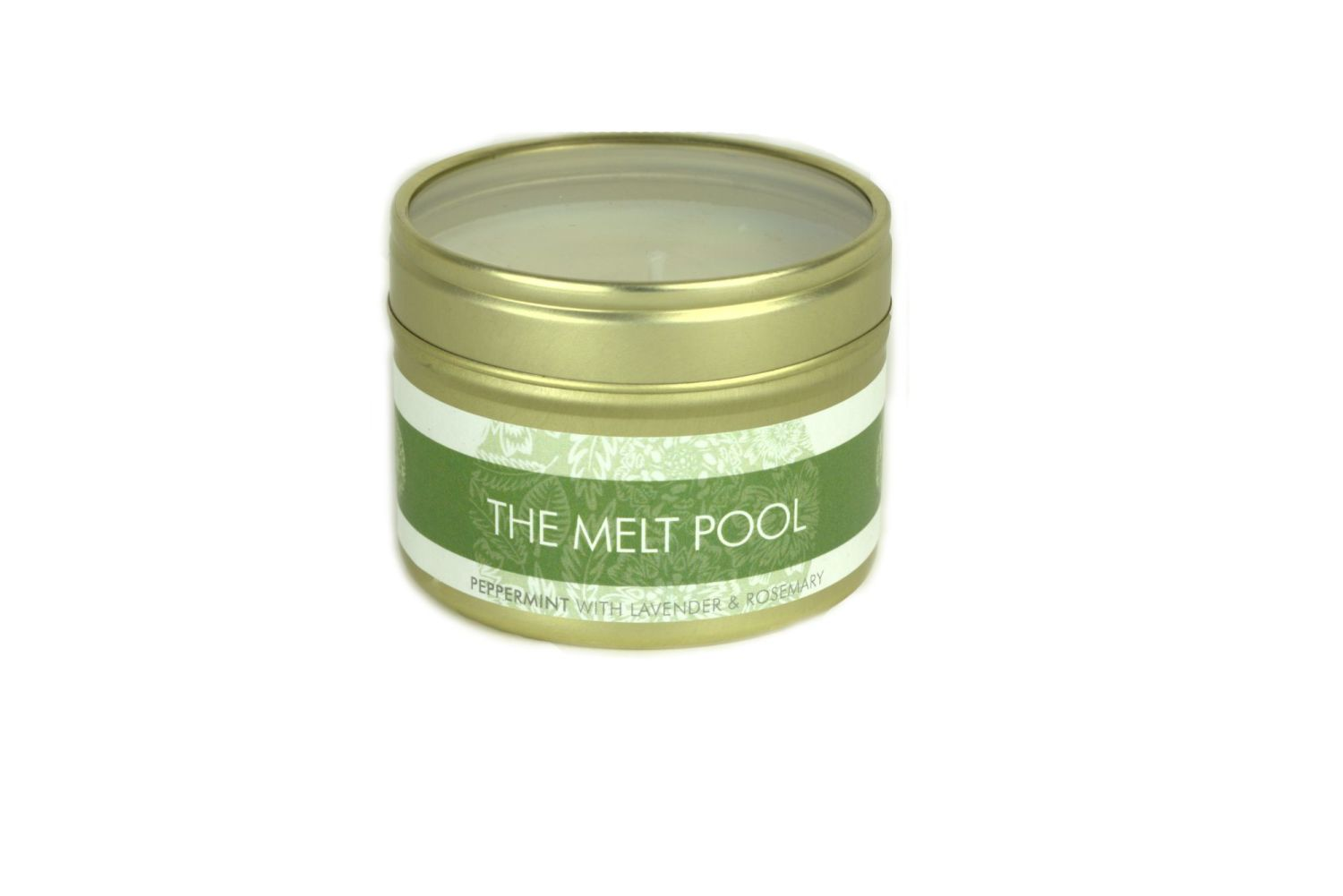 The Melt Pool Small Tin: Peppermint, Lavender & Rosemary
