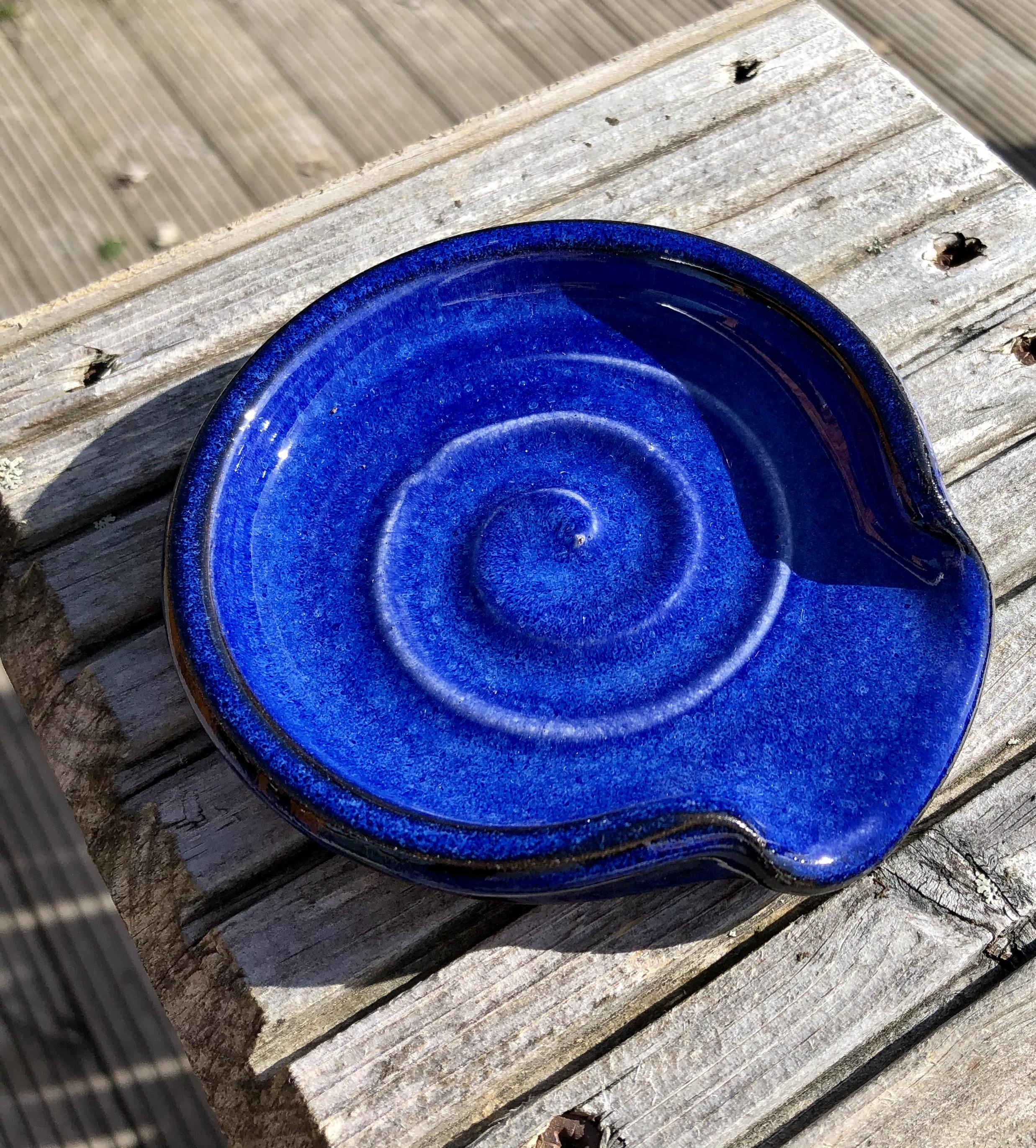 Rupert Blamire Spoon Rest: Blue