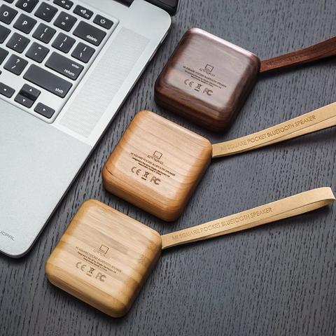 MI Square Bluetooth Speaker Bamboo SALE 25% (£43.95)