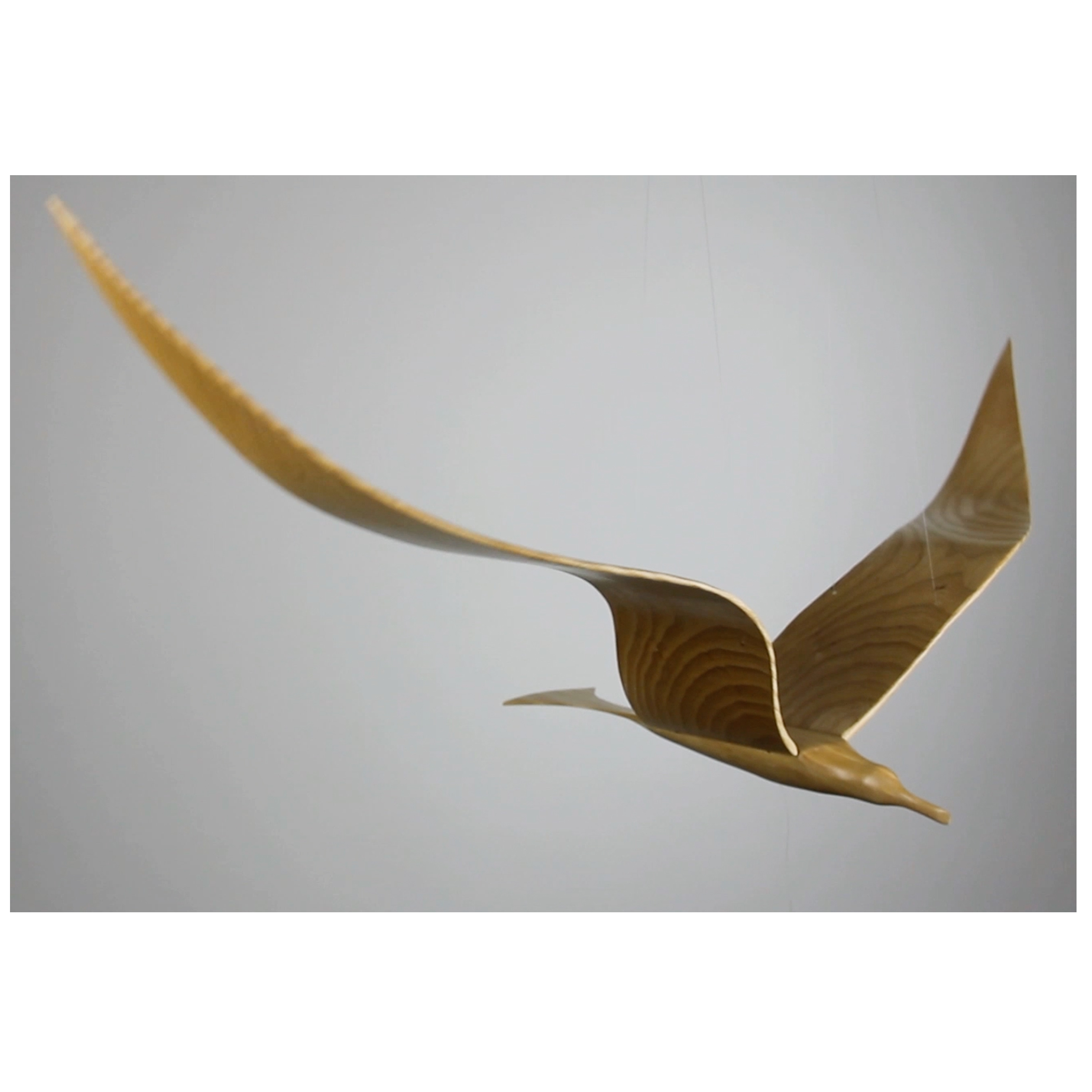Handcrafted Medium Bird - Ash