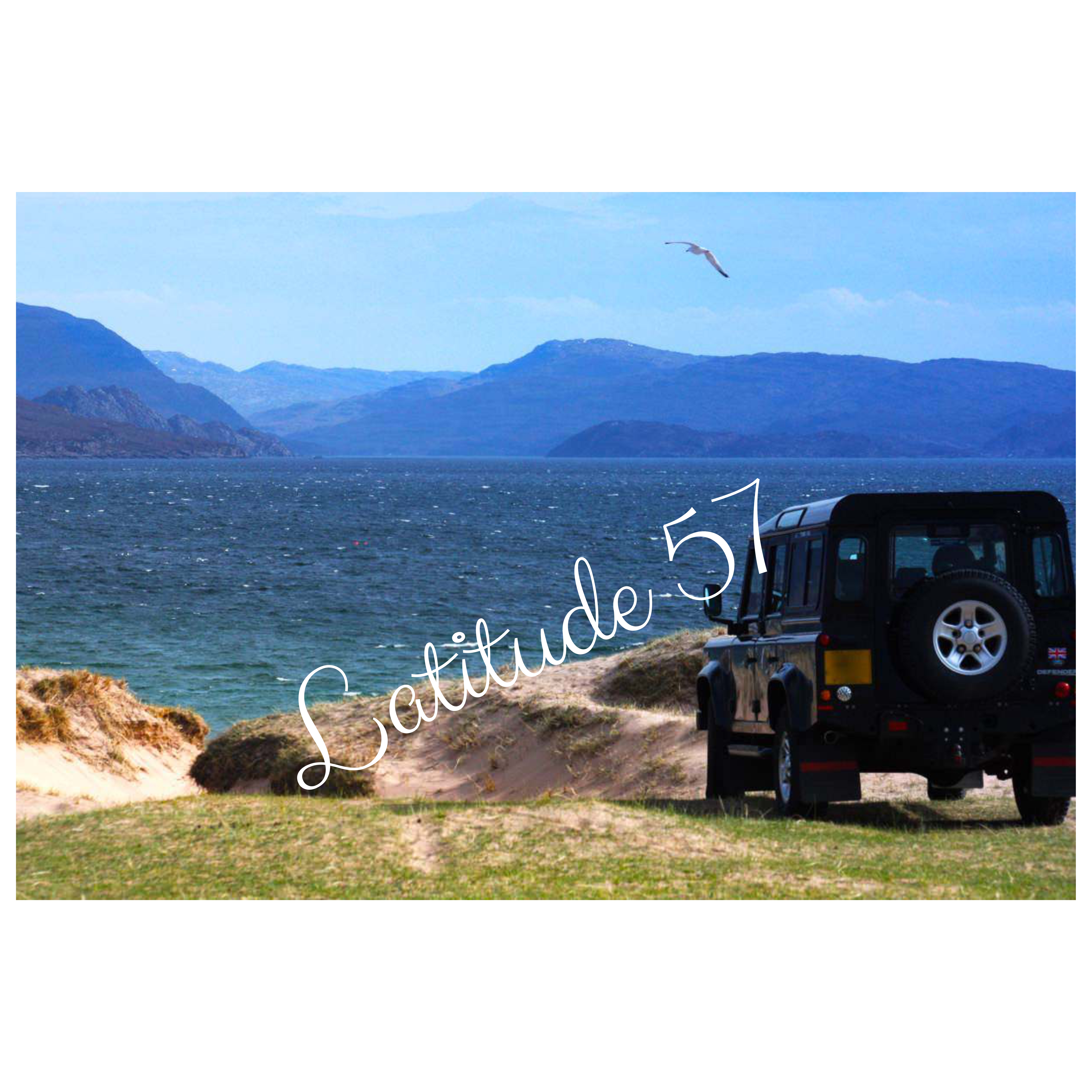 Mounted Print: Redpoint Landrover