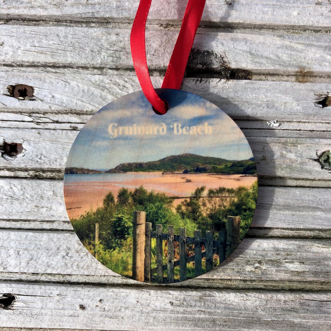Xmas: Wooden Ornament Gruinard