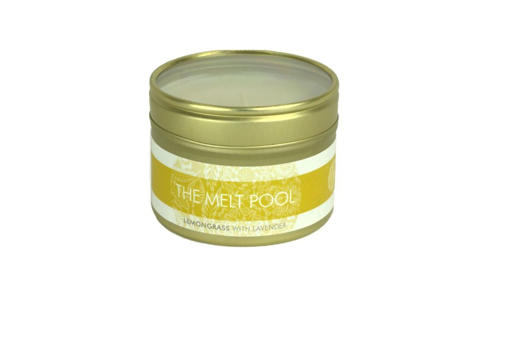 The Melt Pool Small Tin: Lemongrass with Lavender