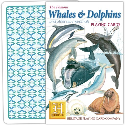 Playing Cards: Whales & Dolphins