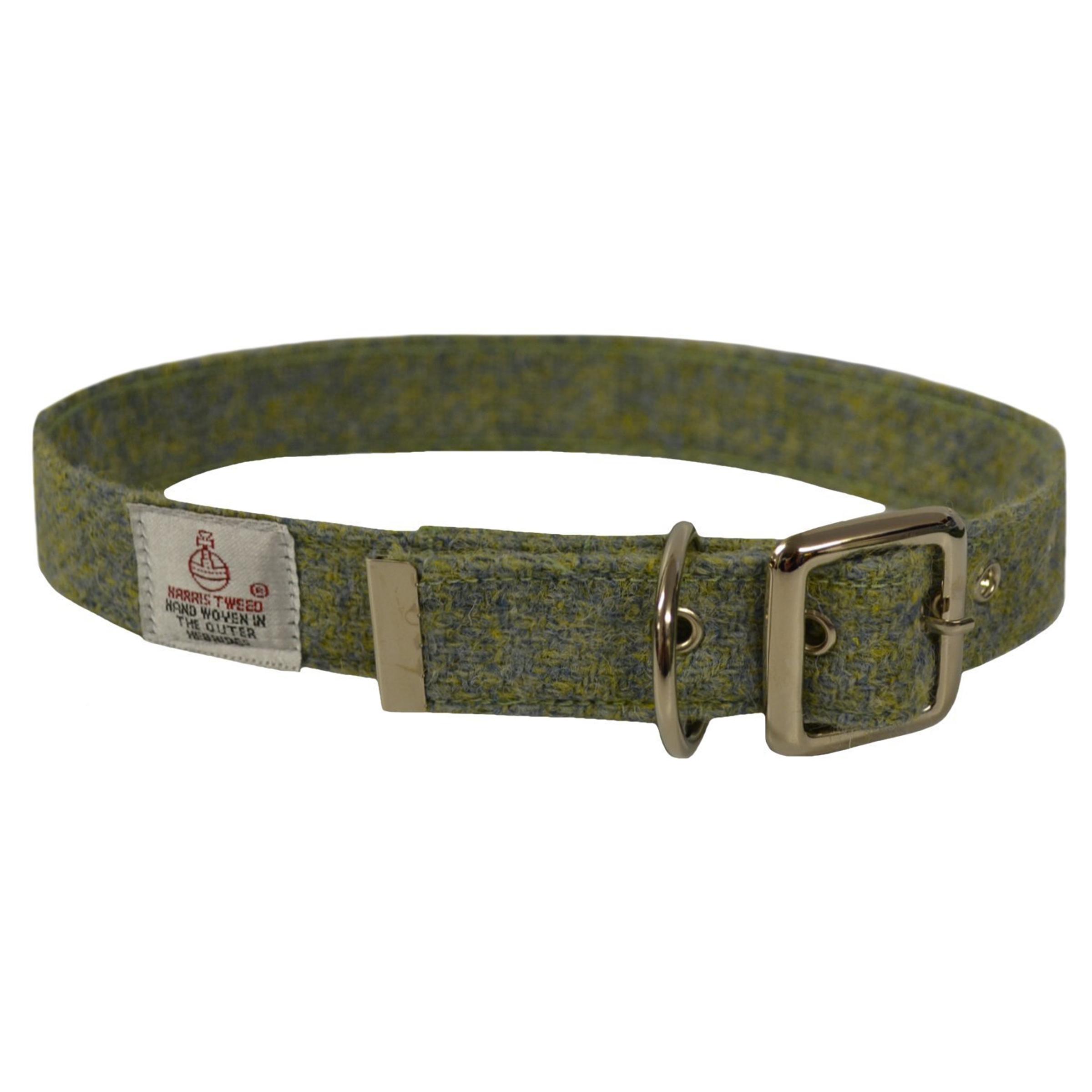 Harris Tweed Dog Collar SALE 30% (£22)