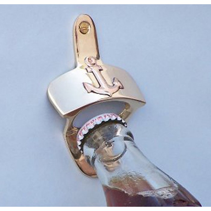 Wall-Mounted Bottle Opener