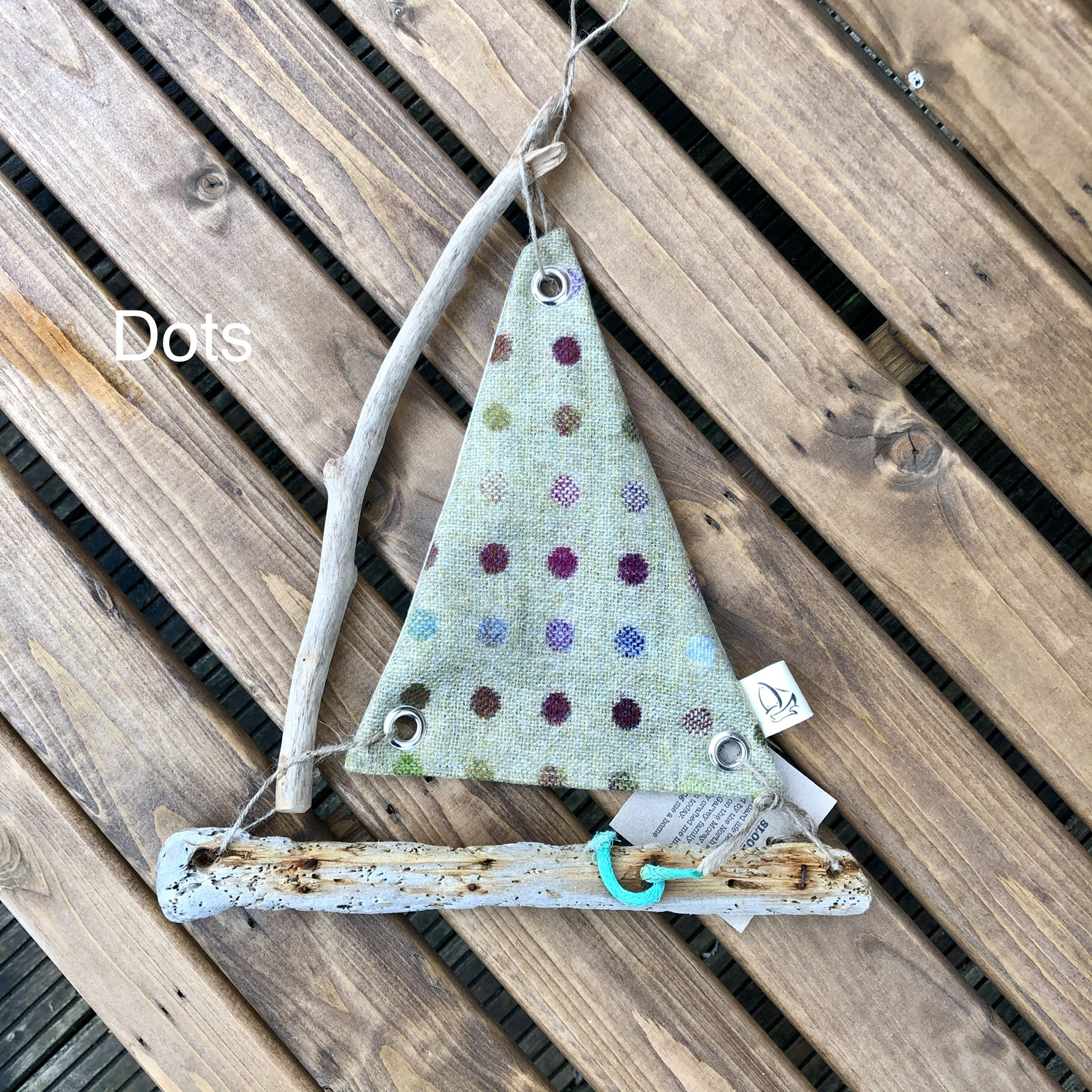 Driftwood Sloop, Handmade