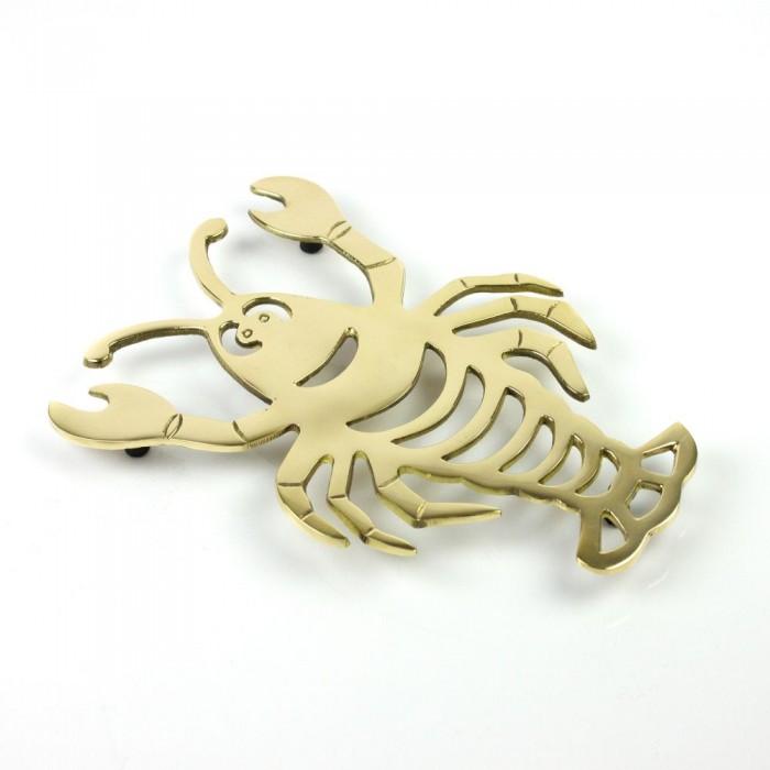 Trivet: Brass Lobster 21 x 14.5cm