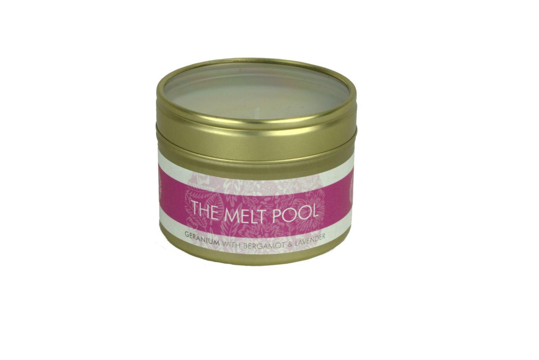 The Melt Pool Small Tin: Geranium, Bergamot..