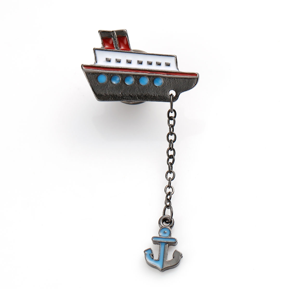 Lapel/Tie Pin Boat and Anchor SALE 50% (£6.95)